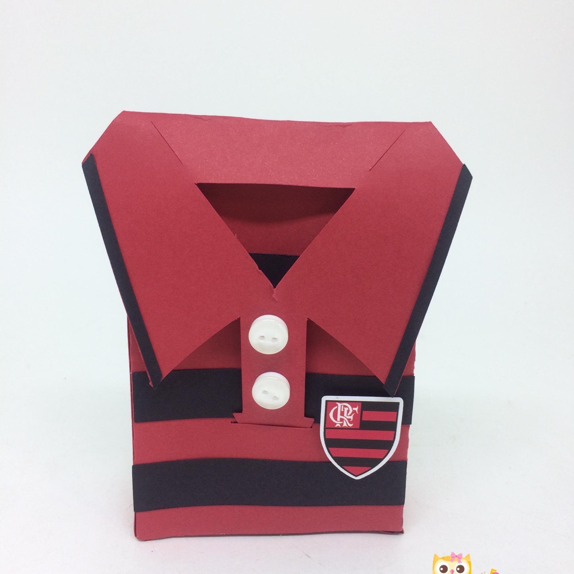 Caixa Camisa Time de Futebol  b6281f811f485