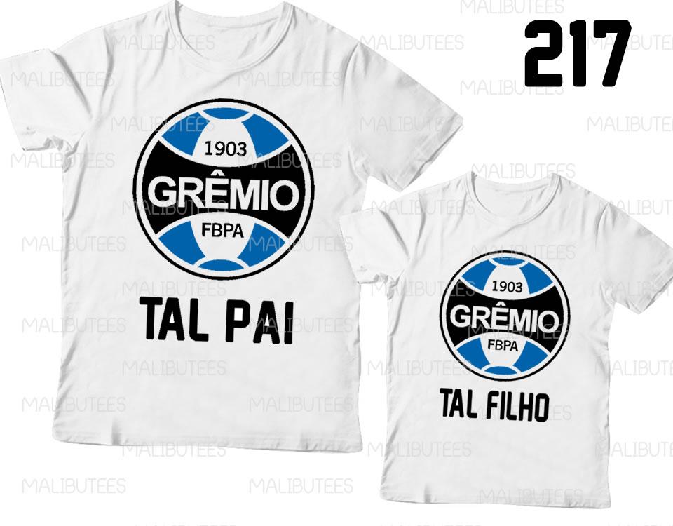 3f965609984563 Gremio Kit Camisetas Tal Pai Tal Filho | Elo7