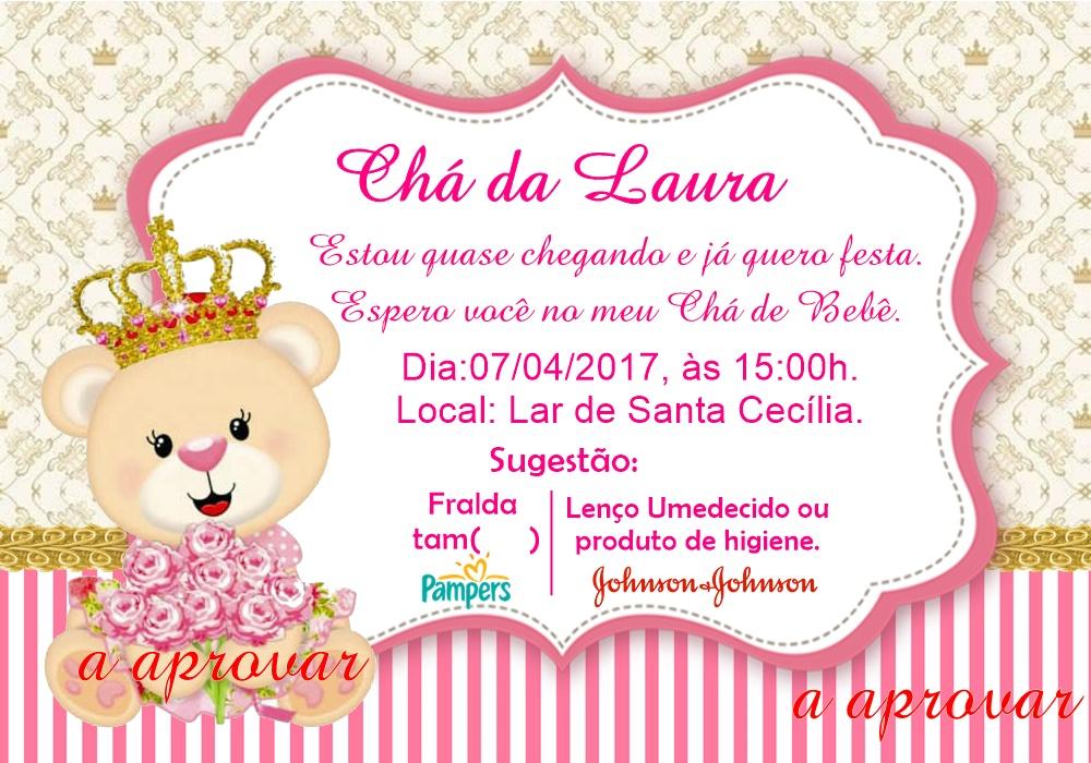 Convite Para Chá De Bebê No Elo7 Acriativa Presentes 9a9b2e