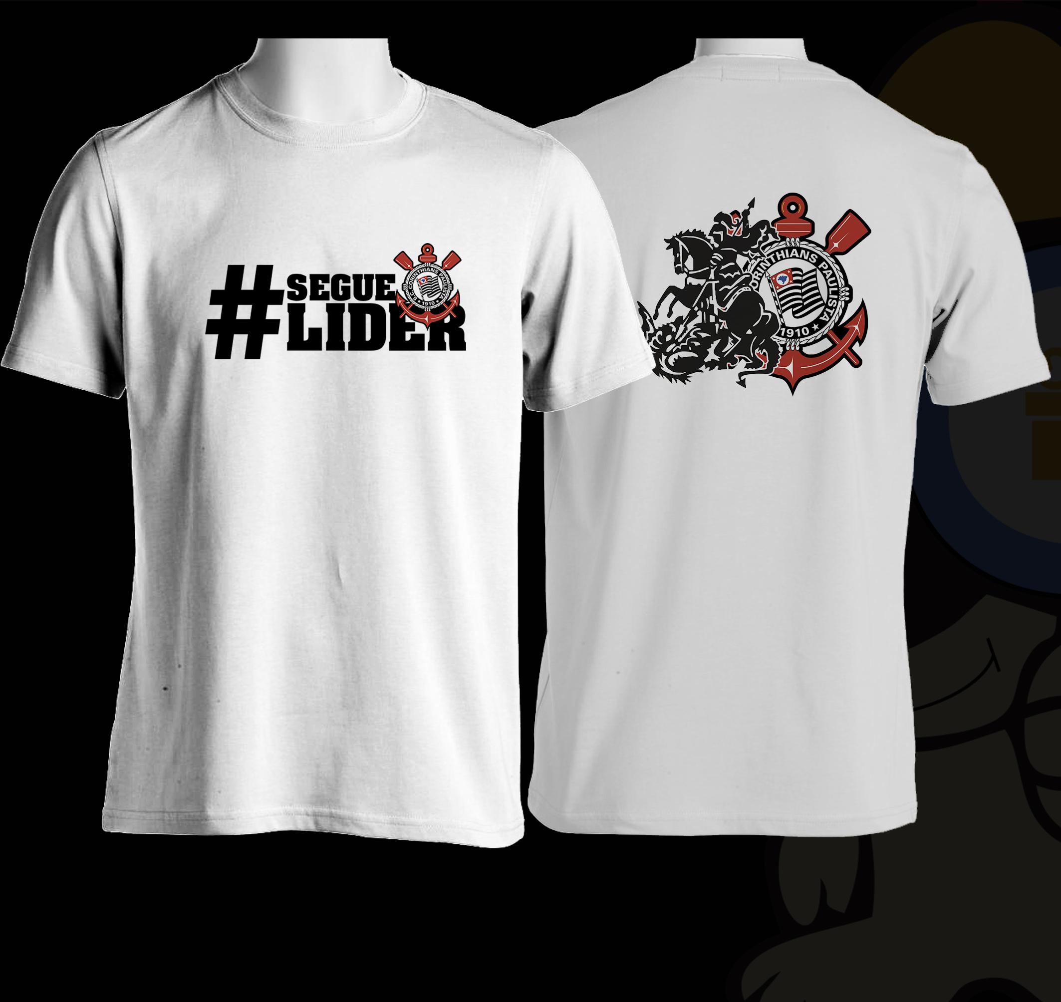 ab462e2829 Camiseta Segue o Lider | Elo7