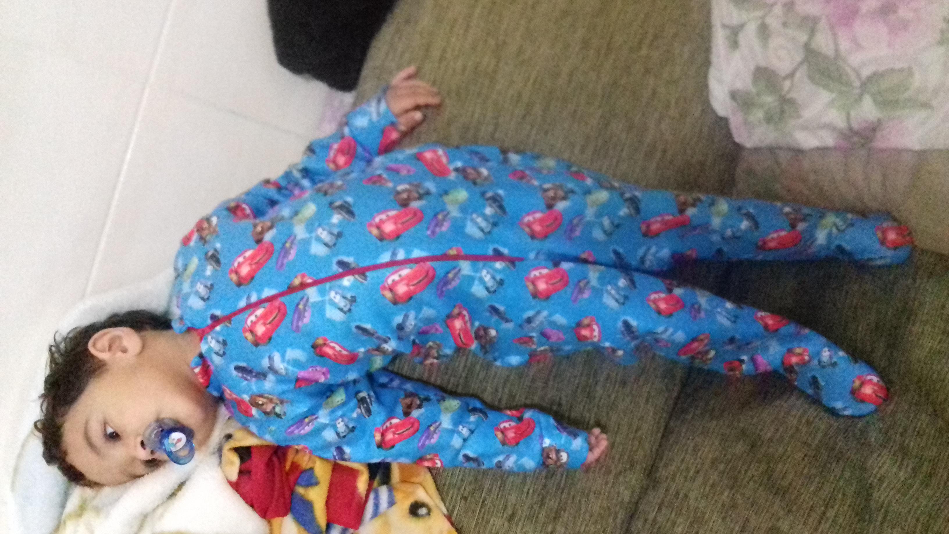 eab173abfe164d Macacao Pijama com Pe Infantil | Elo7