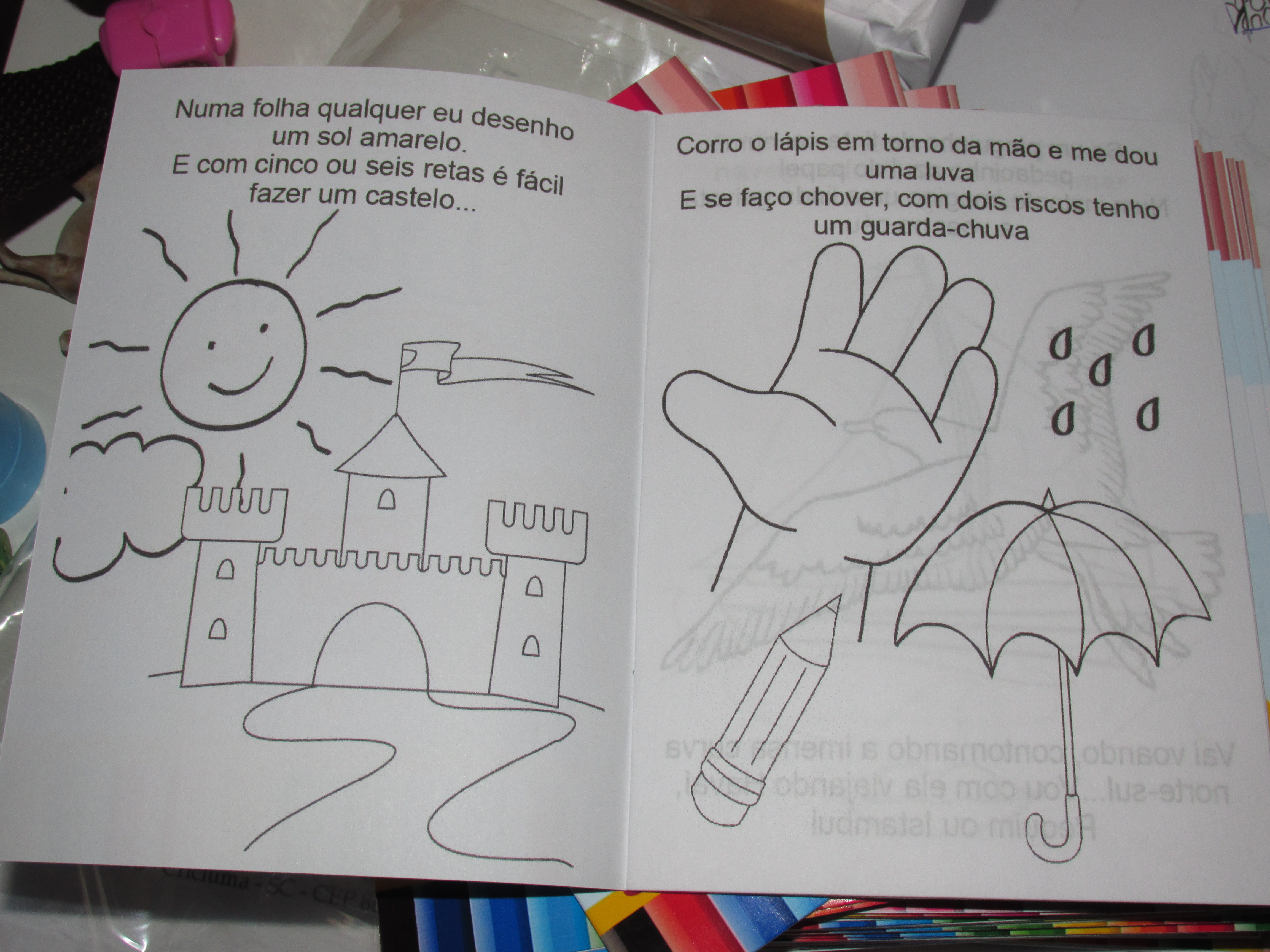 Revista Aquarela 14x10 Com Letra Musica No Elo7 Tudo De Festa
