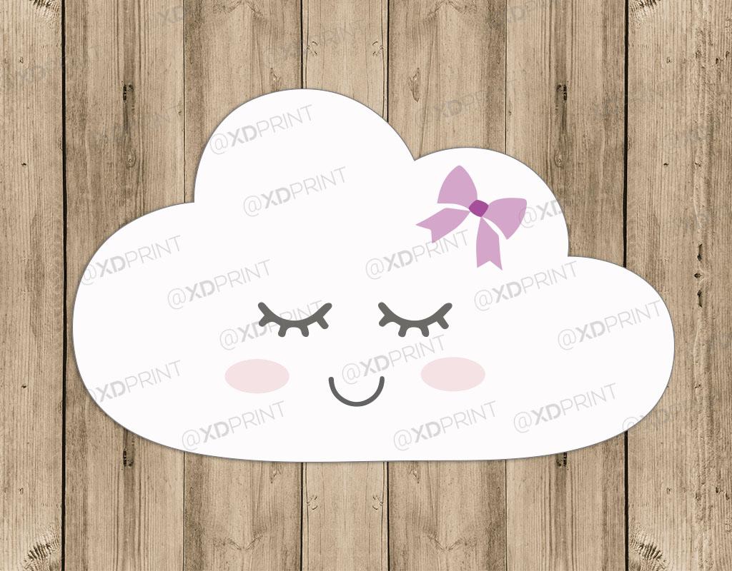 nuvem com rostinho elo7
