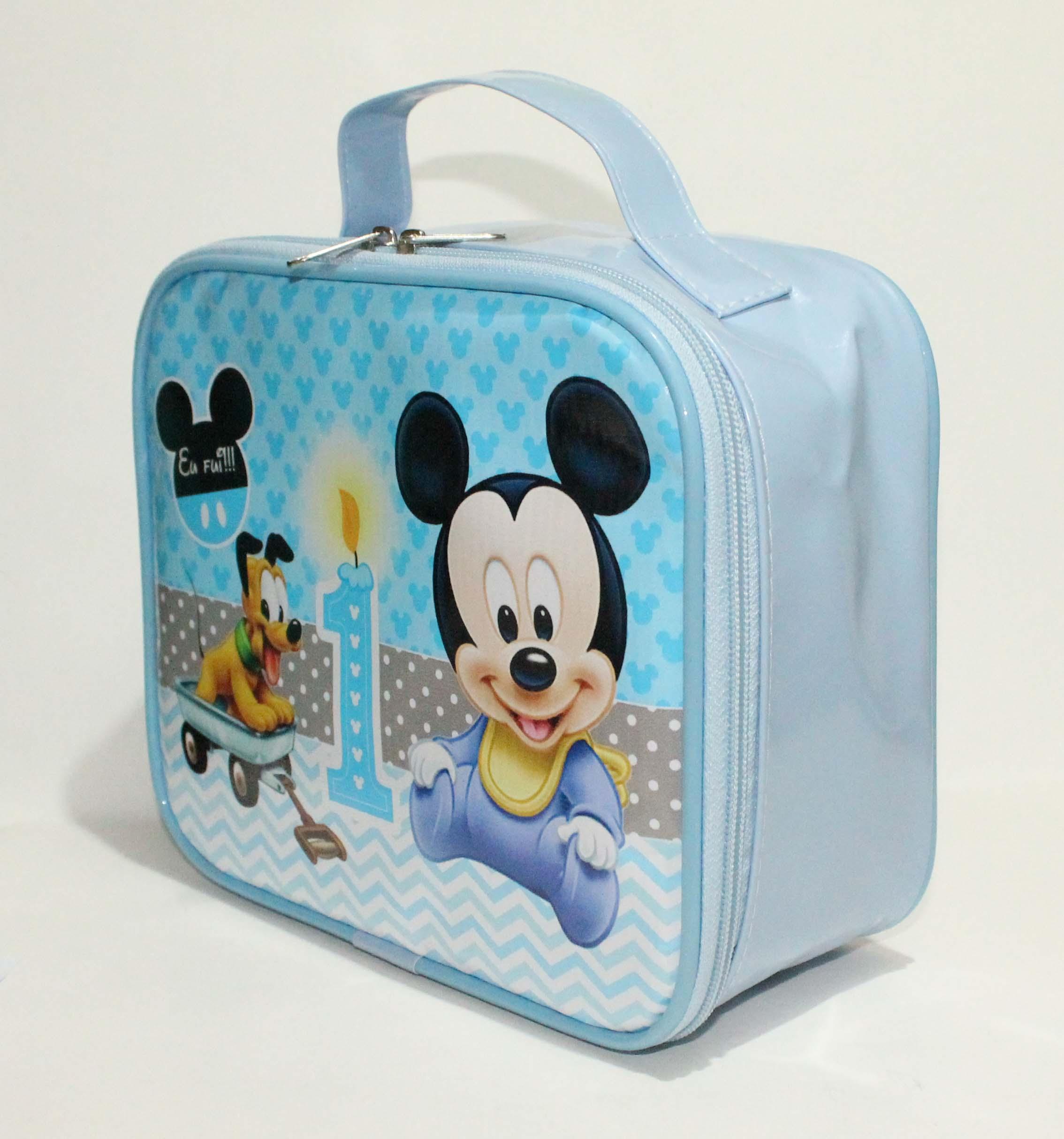 e97b7deac Maleta Mickey Baby forrada no Elo7 | Arca dos Sonhos (9CBABB)