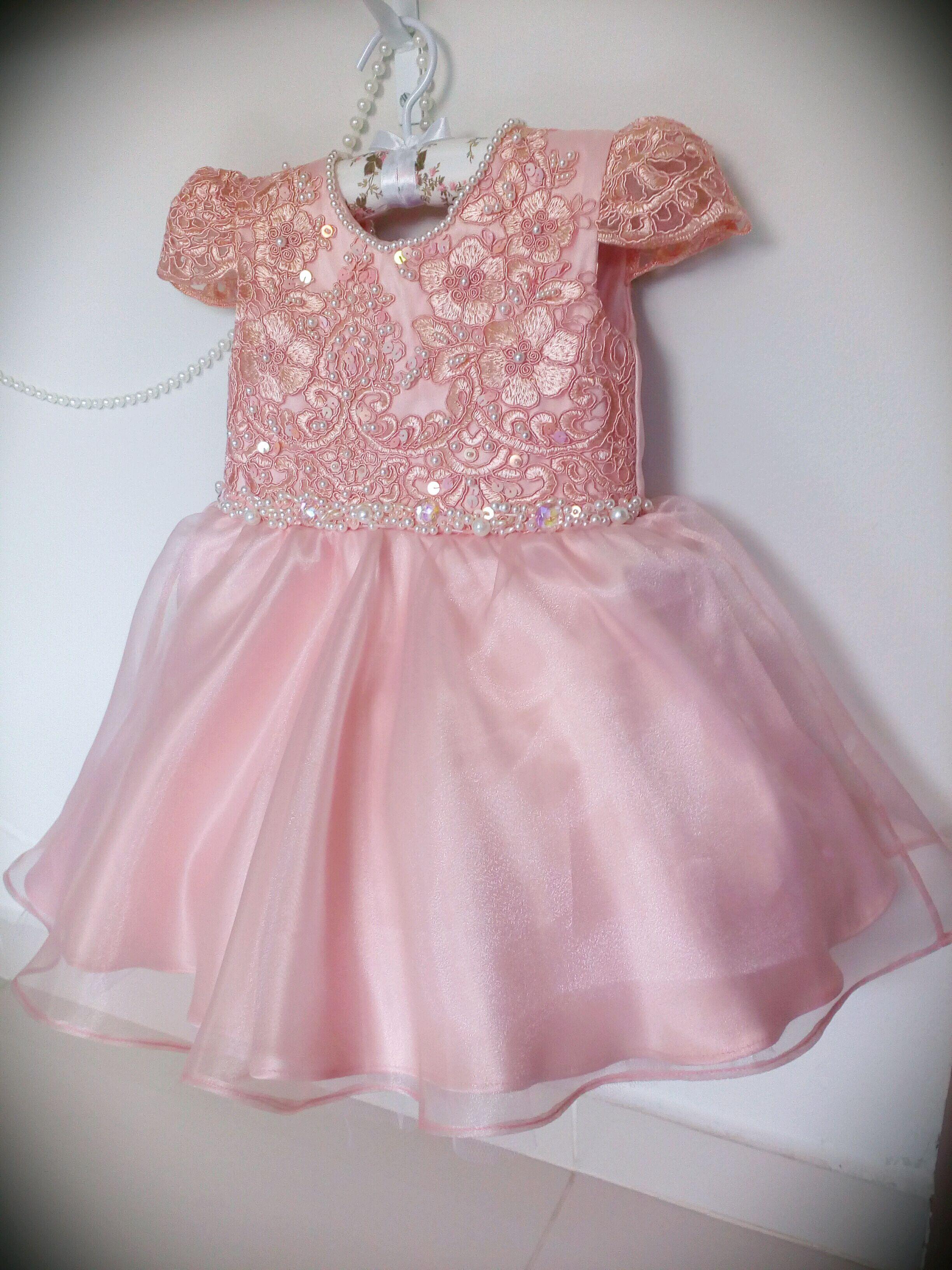 Vestido Festa Infantil Realeza