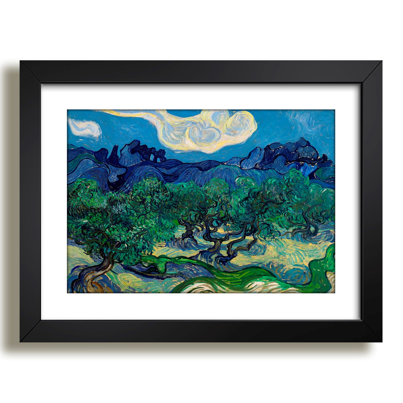 7c73a98b6f9 Quadro Noite Estrelada Vincent Van Gogh