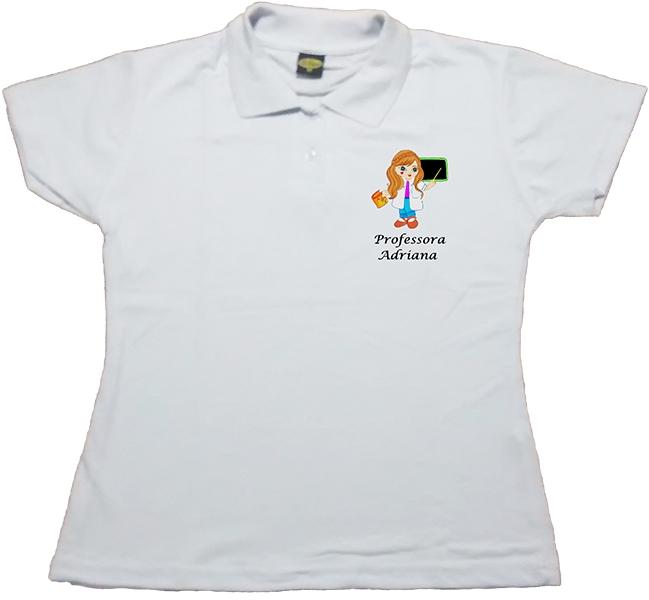 Camiseta Polo Adulto no Elo7  d8b29a56c455c