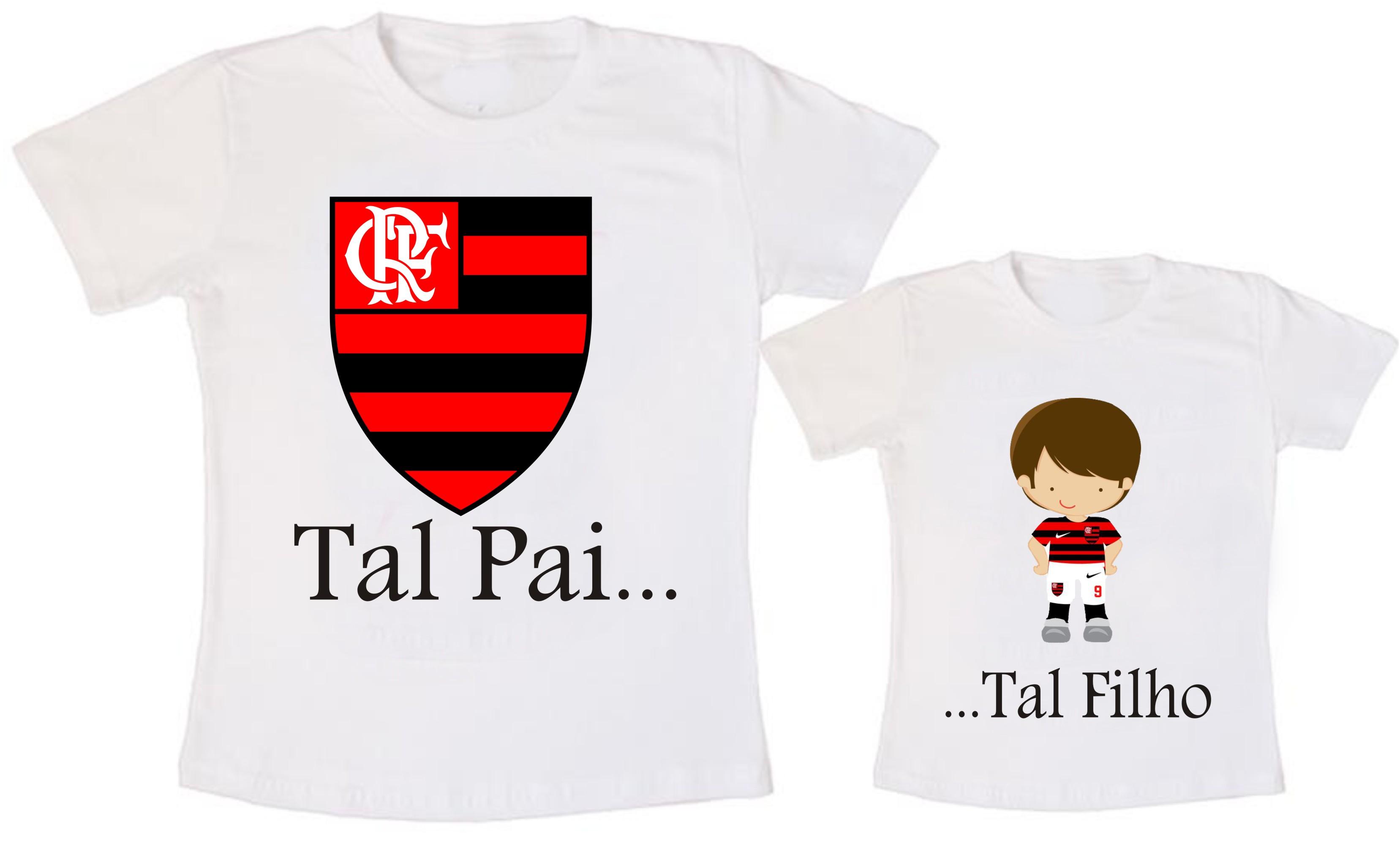 Conjunto Tal Pai Tal Filho Flamengo  9cb6a2ff807de