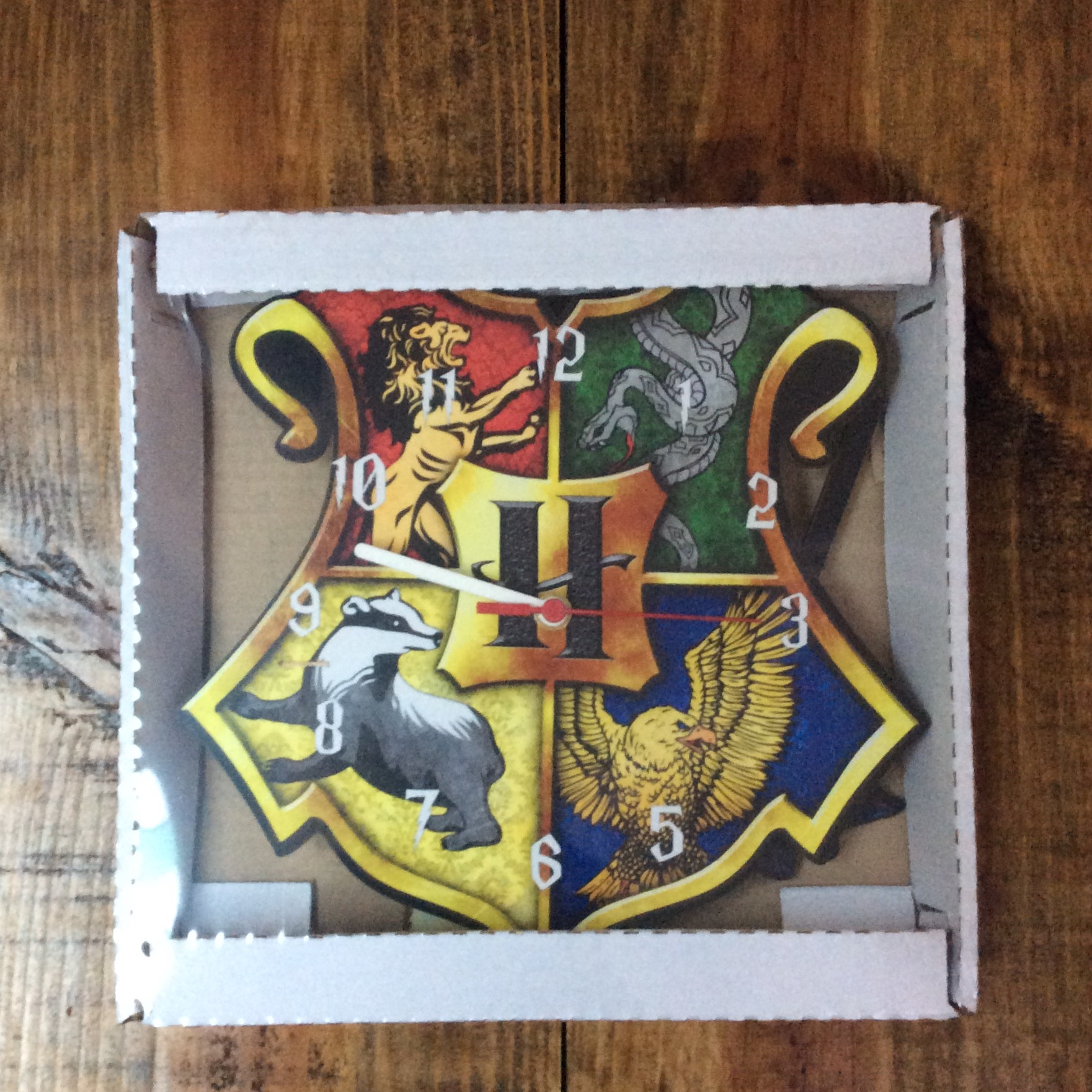 2c002bd5f0e Relógio com Pêndulos Harry Potter no Elo7