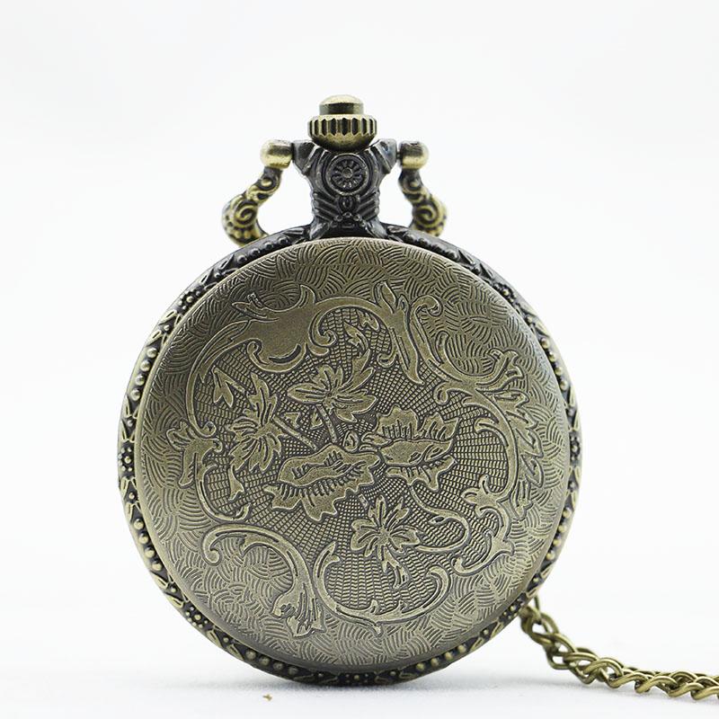 8ae754db8ef Relógio De Bolso Bronze Retro Vintage Da no Elo7