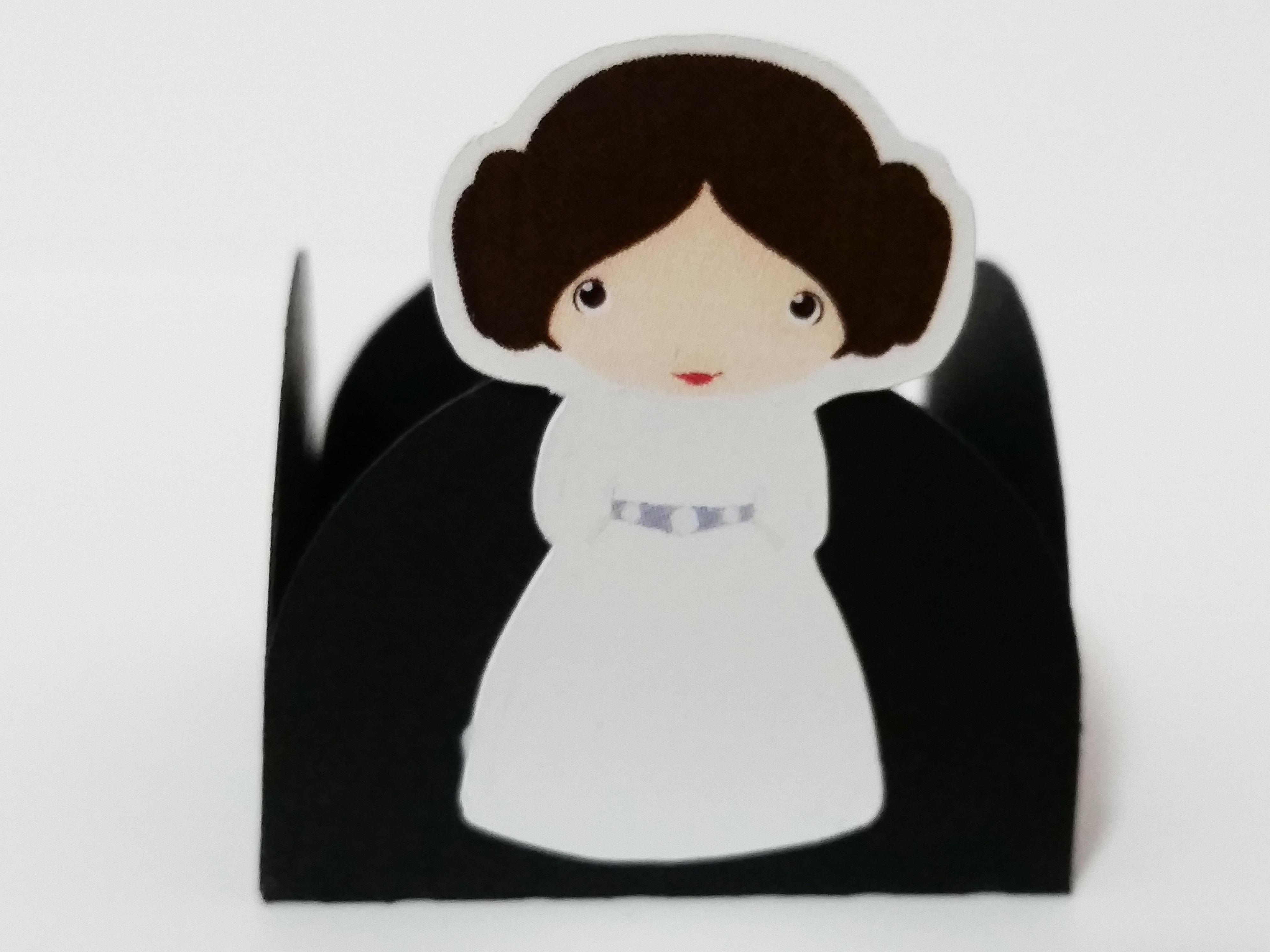 Amigurumi Princesa Leia Star Wars | Elo7