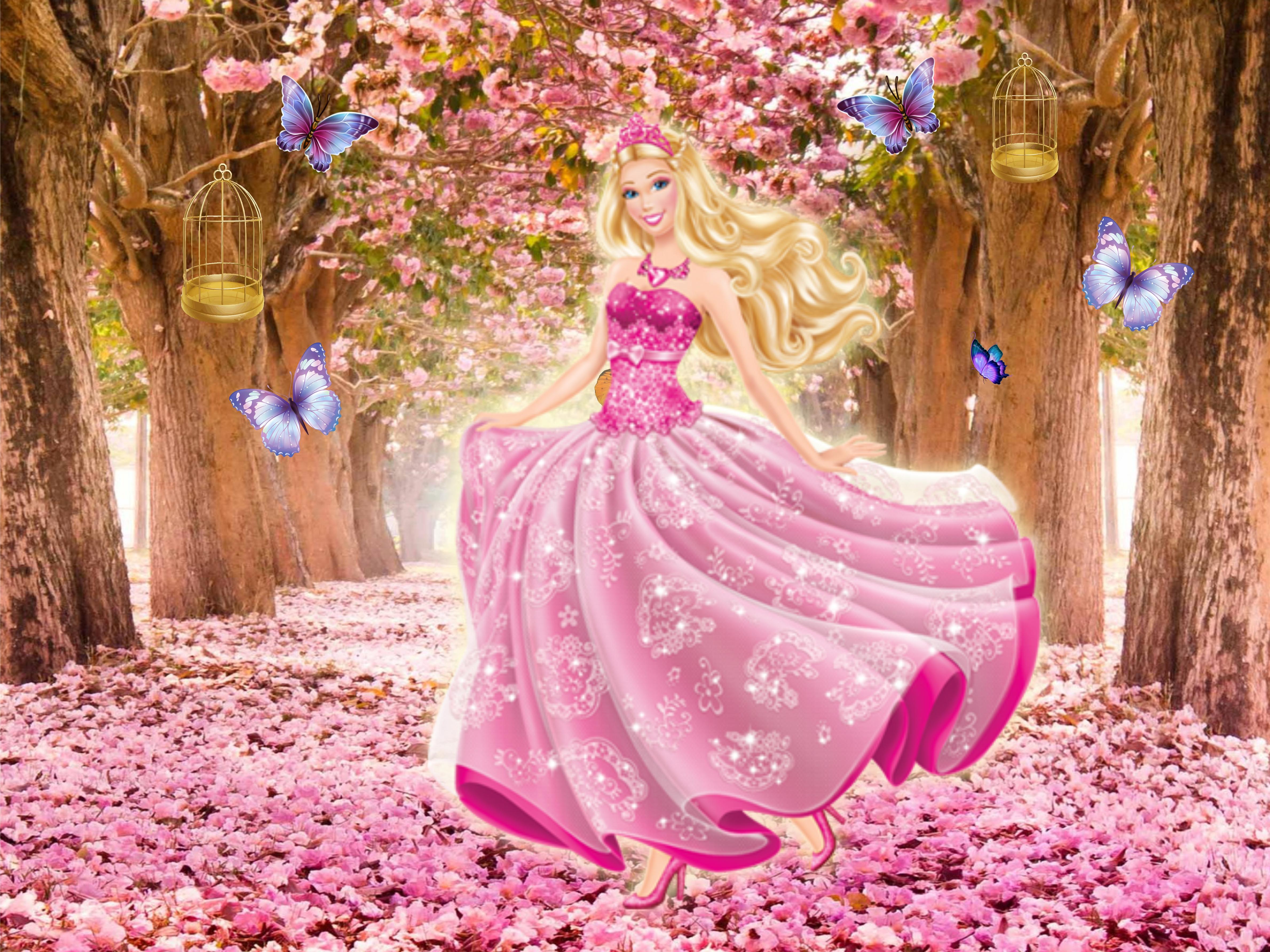 4627f1edd0 Vestido Festa Barbie Castelo