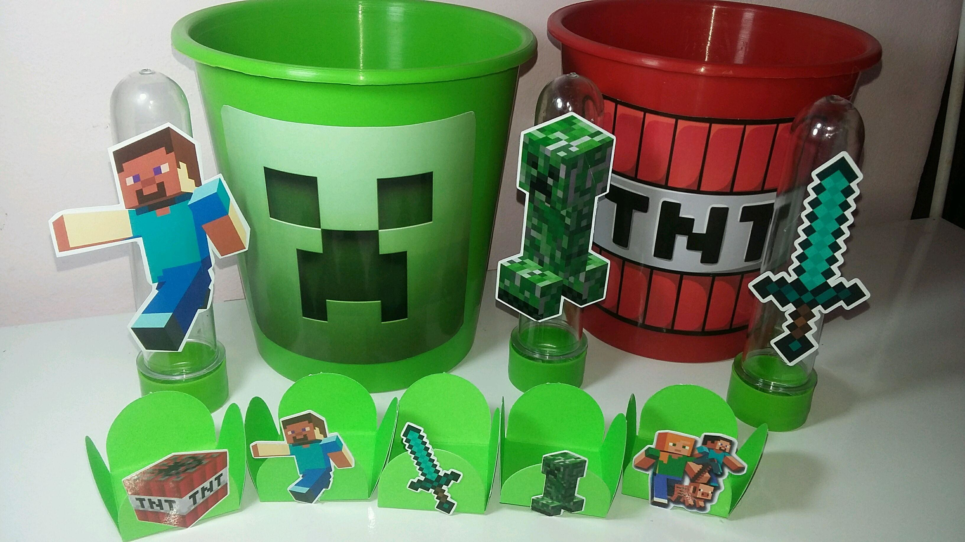 Festa Minecraft potes
