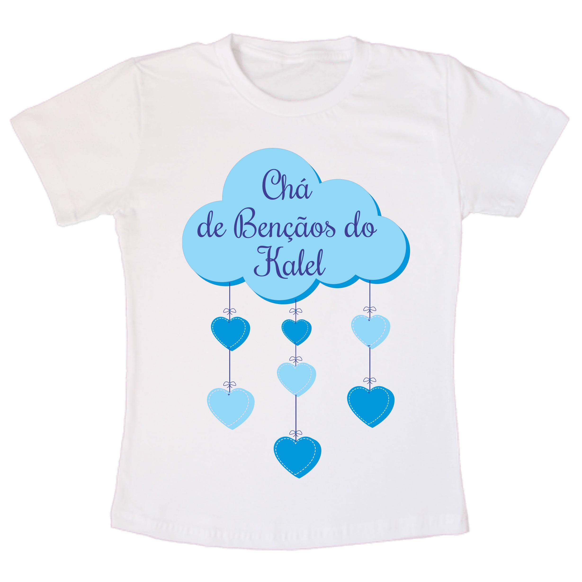 Camiseta Cha De Bebe Menino Elo7