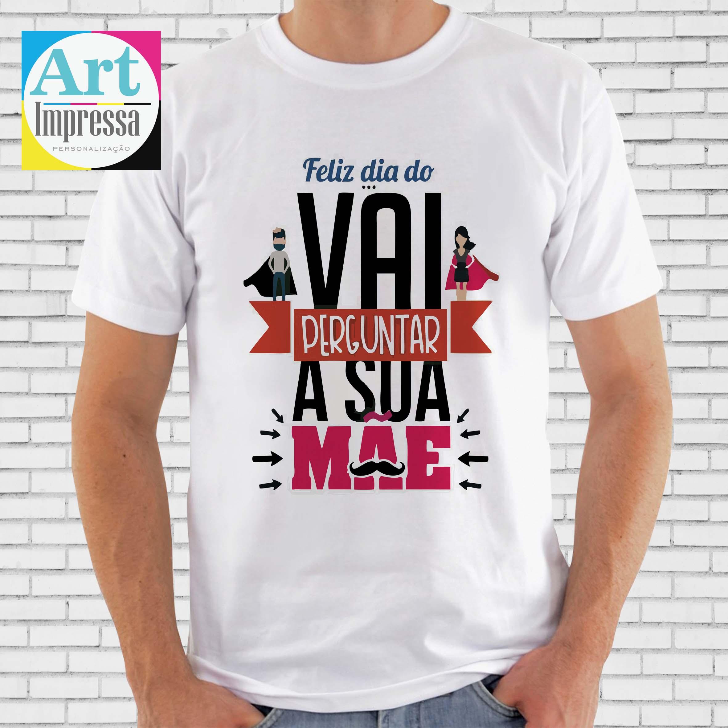 Camiseta Feliz Dia Dos Pais Divertido No Elo7 Art Impressa