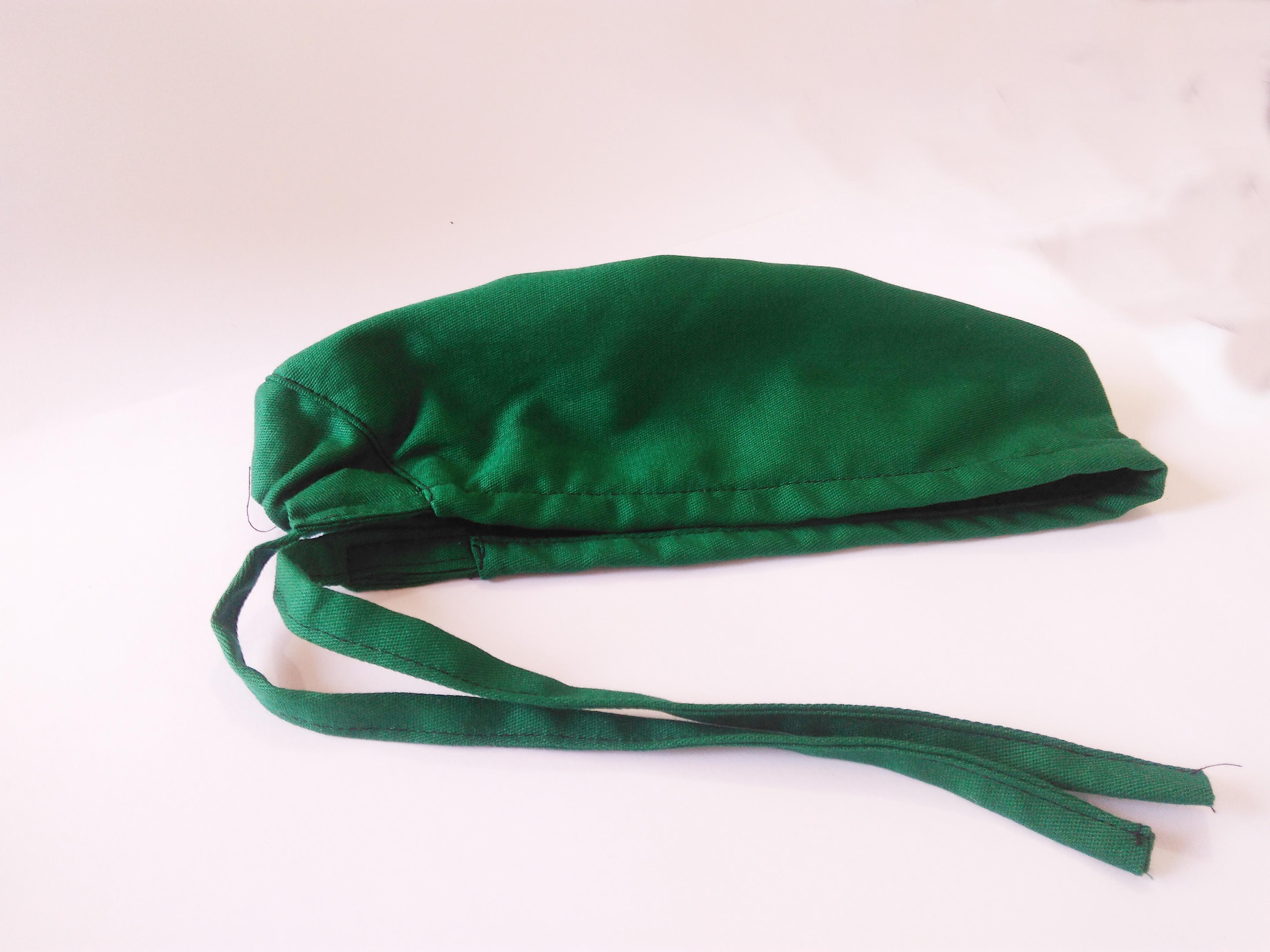 touca bandana gorro cirúrgica verde no Elo7  f6336c64feb