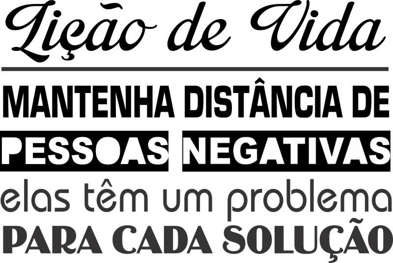 Adesivo Parede Decorativo Frase Positiva Elo7