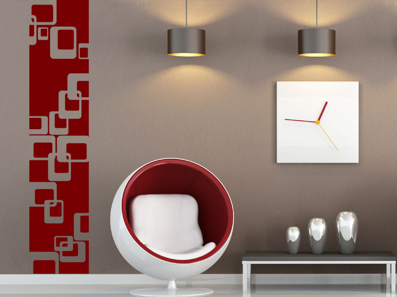 Adesivo De Parede   Faixa Geométrica No Elo7 | Youme Adesivos Decorativos  (9F176F)