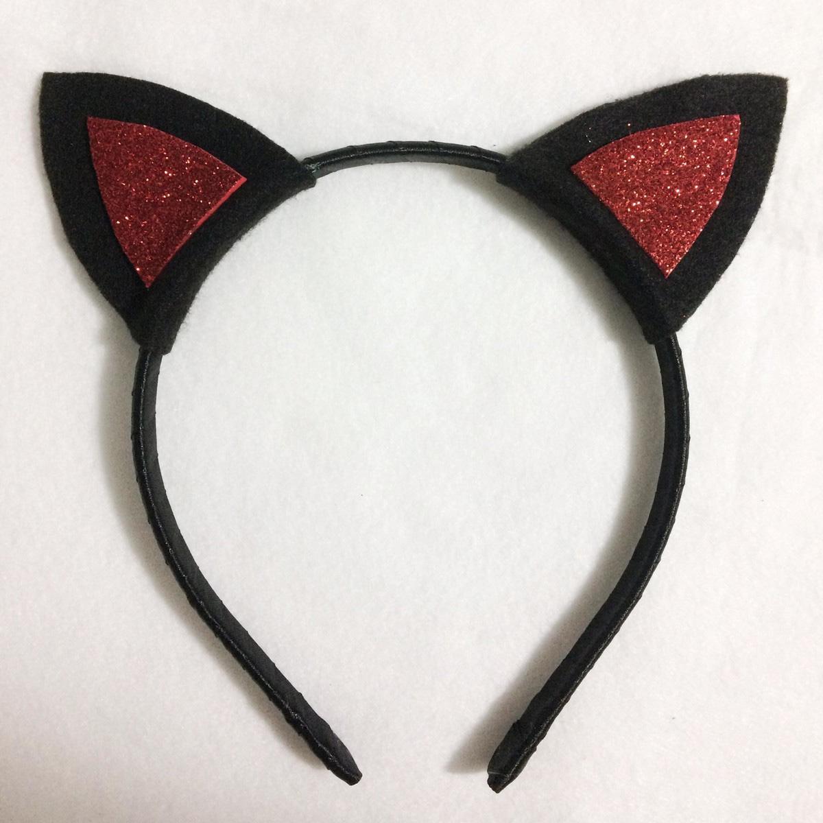 04e1608dbd4ec Tiara de diabinha - Halloween no Elo7