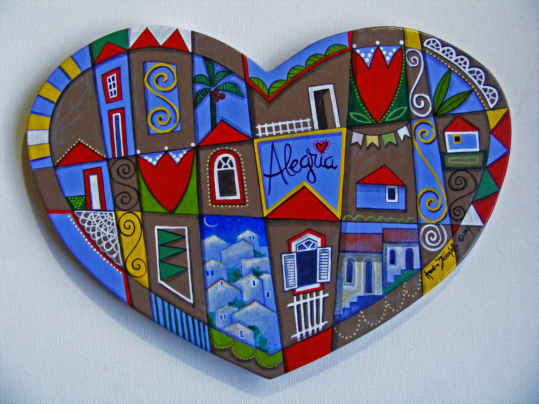 """Design Of AZ Hearts, série """"Vilarejo"""", """"Alegria"""" e preço"""