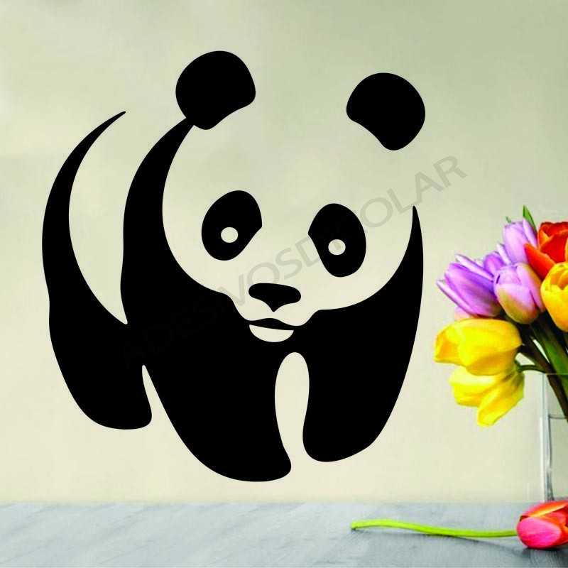 Conhecido Adesivo Para Parede Urso Panda no Elo7 | Adesivos Dicolar (9F815F) FS62