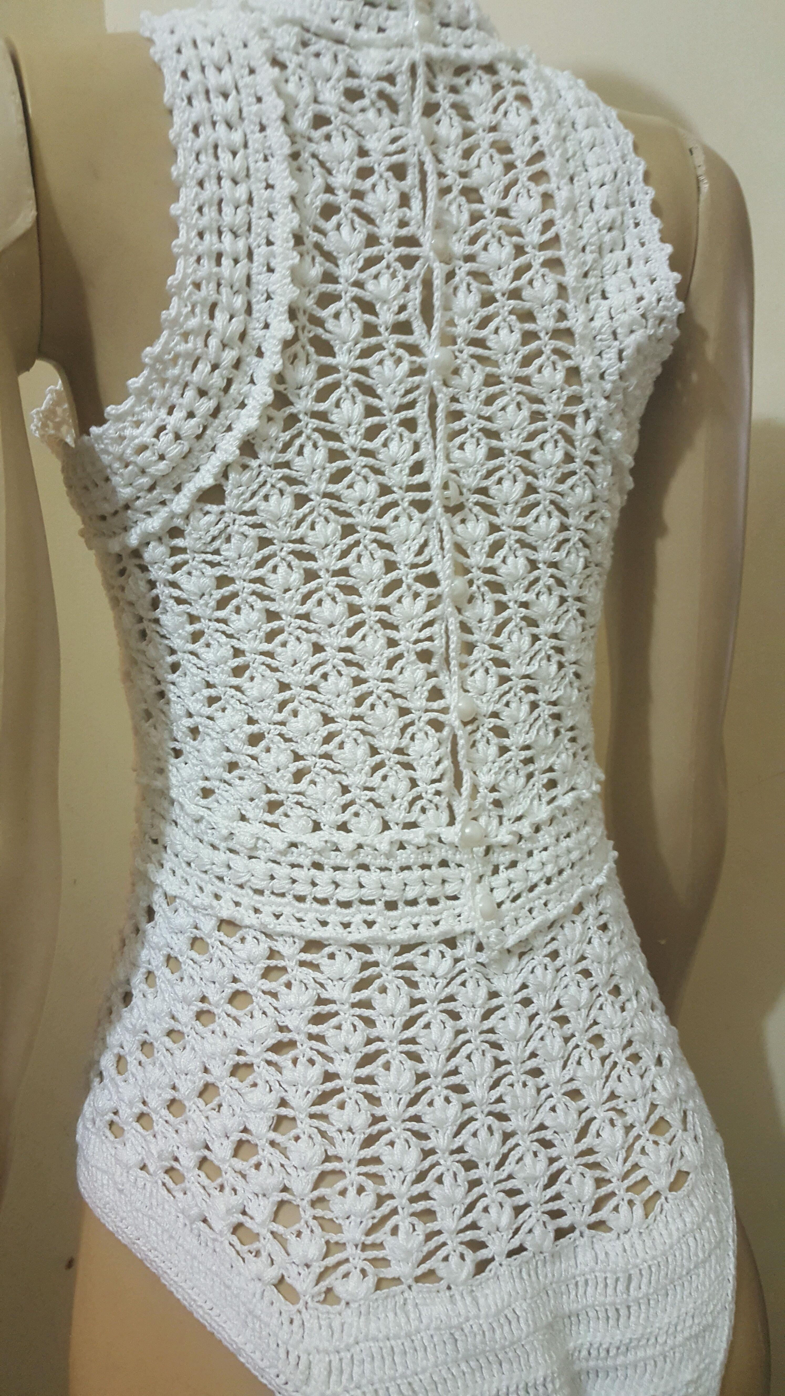 56eac6979d Body de Croche Adulto no Elo7