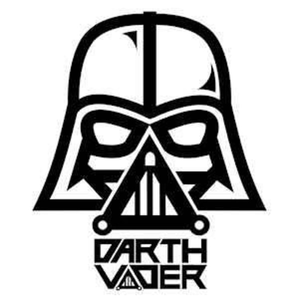 Adesivo Darth Vader 25x25 No Elo7 Mimmos Presentes E Decoracao