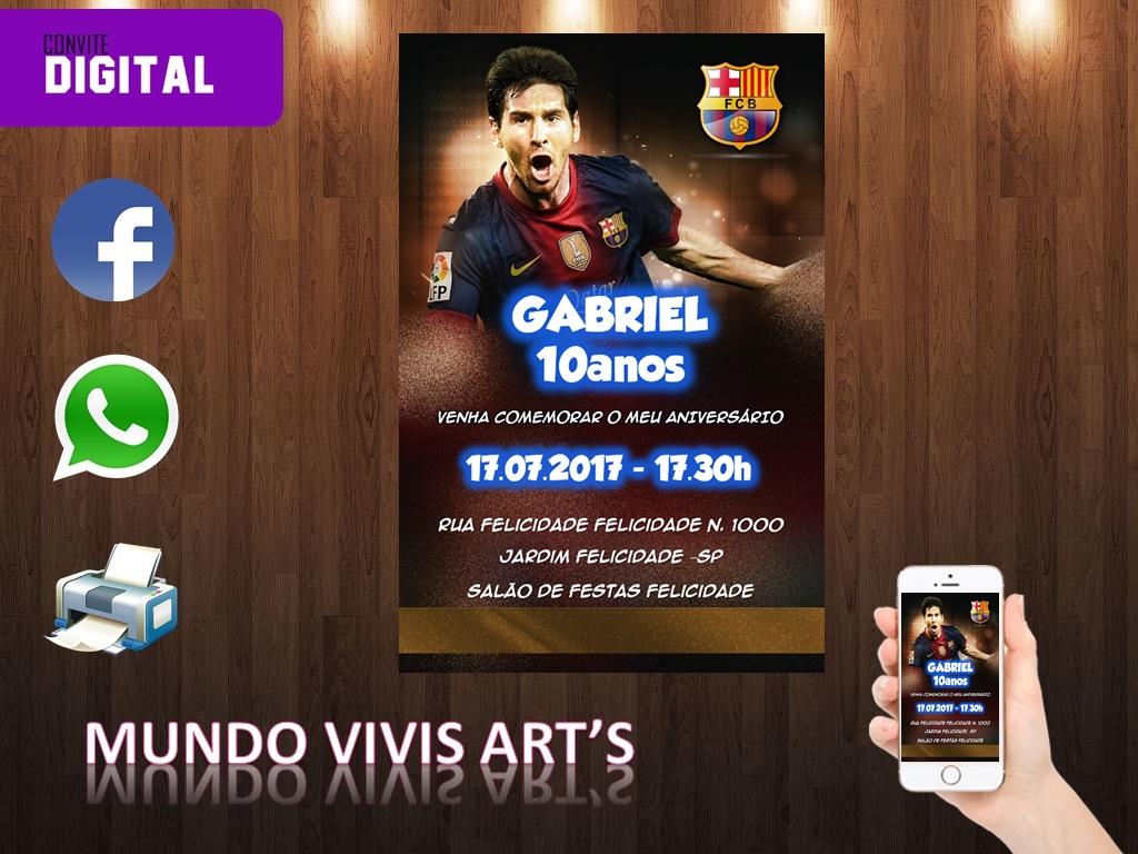 b97a31f694 Personalizado Futebol Jogador Messi