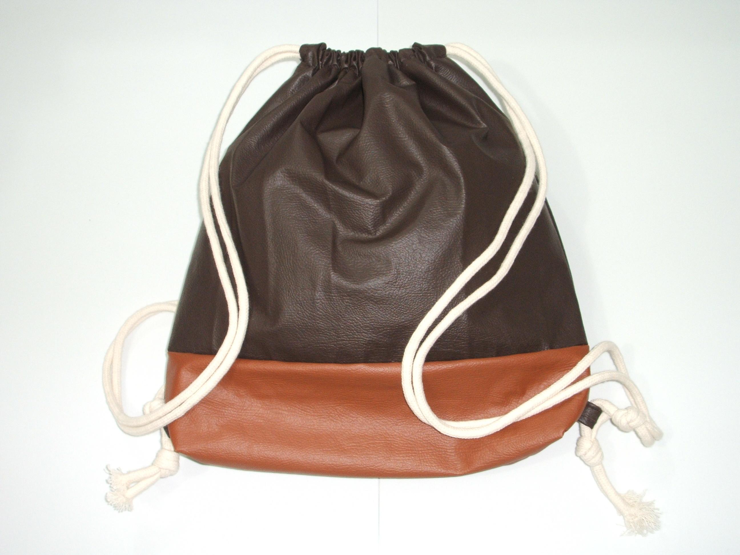 496c84d21 Mochila feminina fashion All Brown no Elo7 | Dondoca FuLô Mimos&Presentes  (A06E8B)