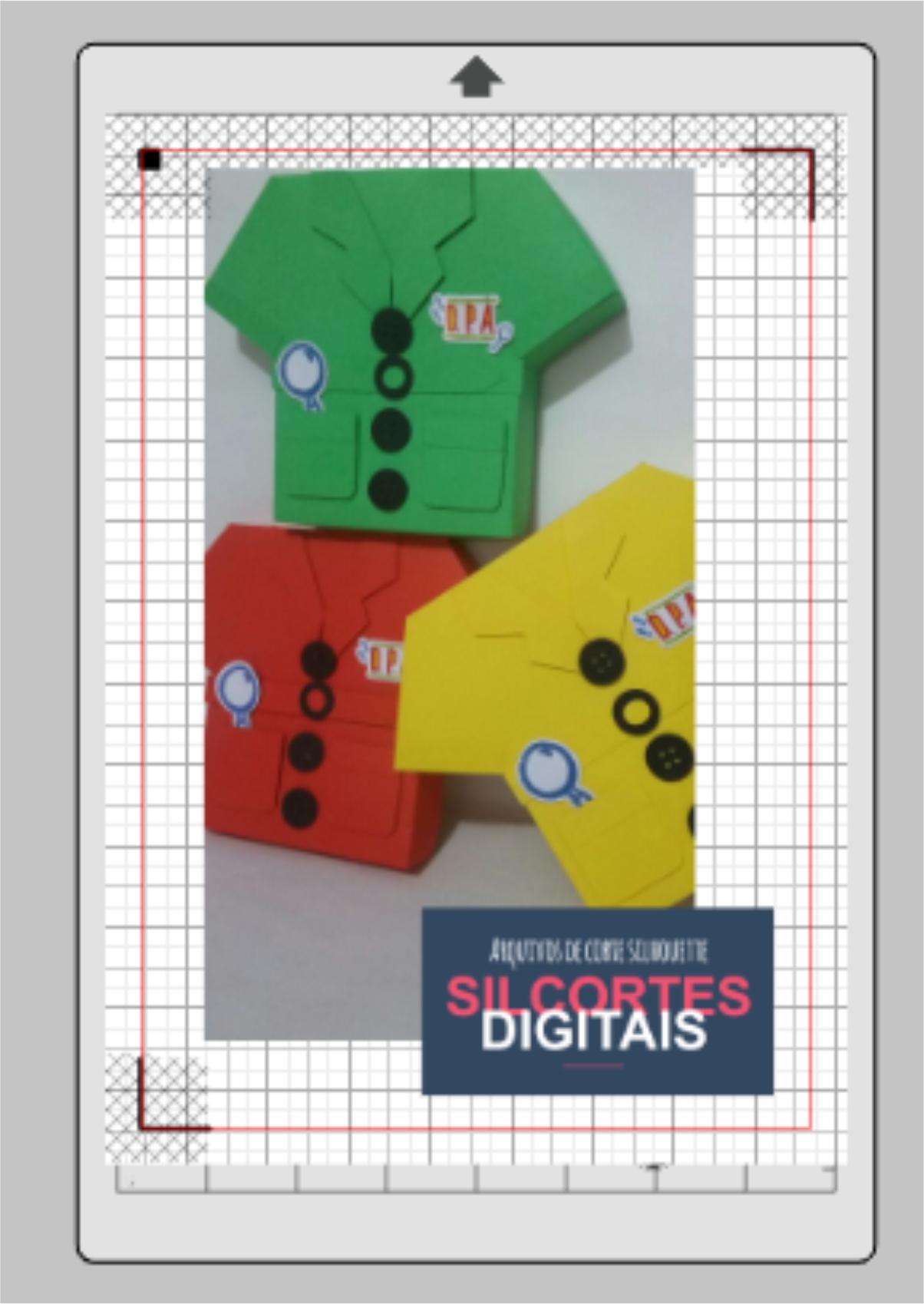 Arquivo de Corte Caixa Camisa Vasco  bb4912ca64316