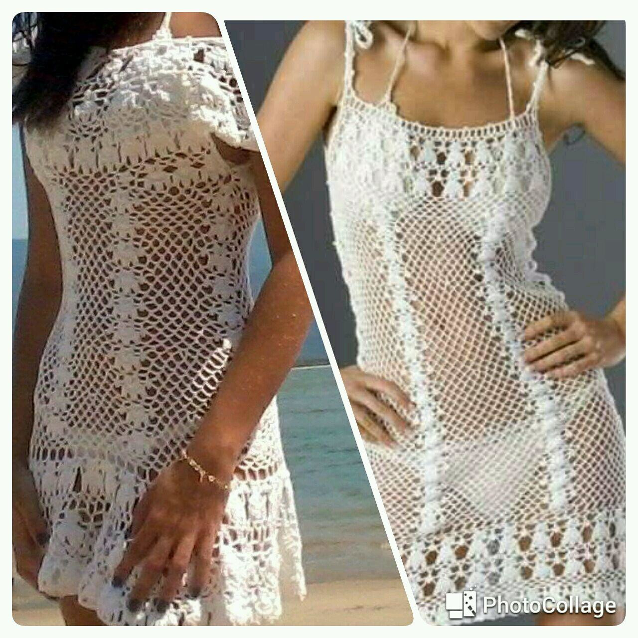 44213ef57837 Saida de Praia Croche M Promocao   Elo7