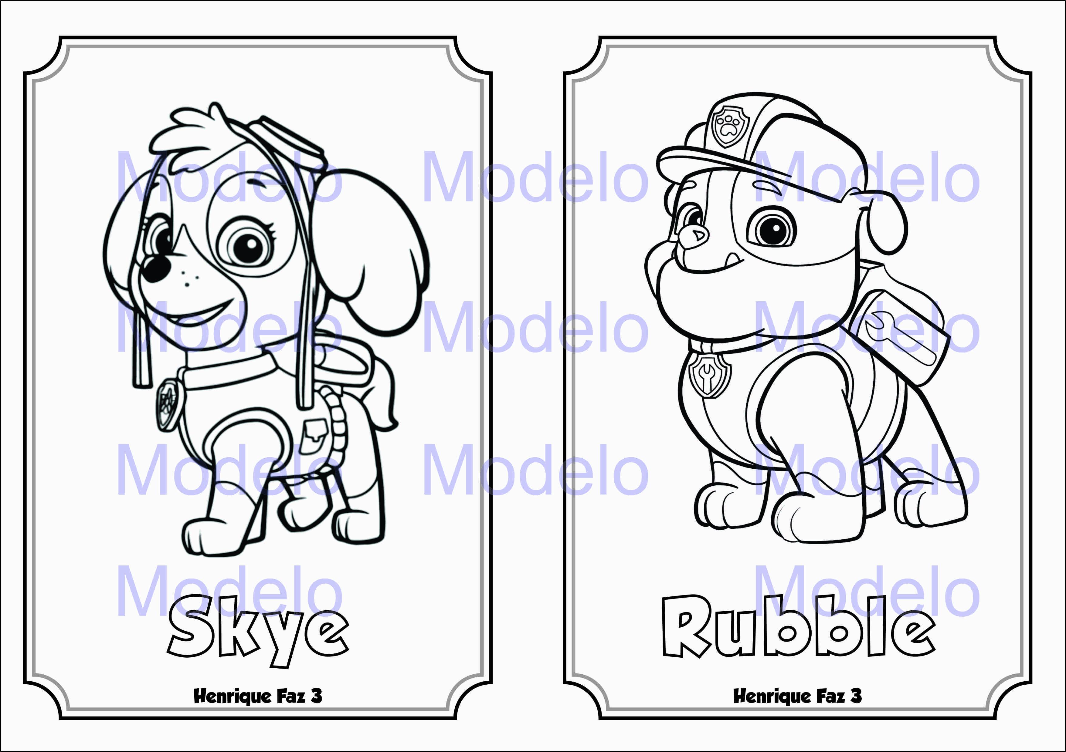Desenhos Para Colorir Patrulha Canina on Mario Bros Imagens Para Colorir