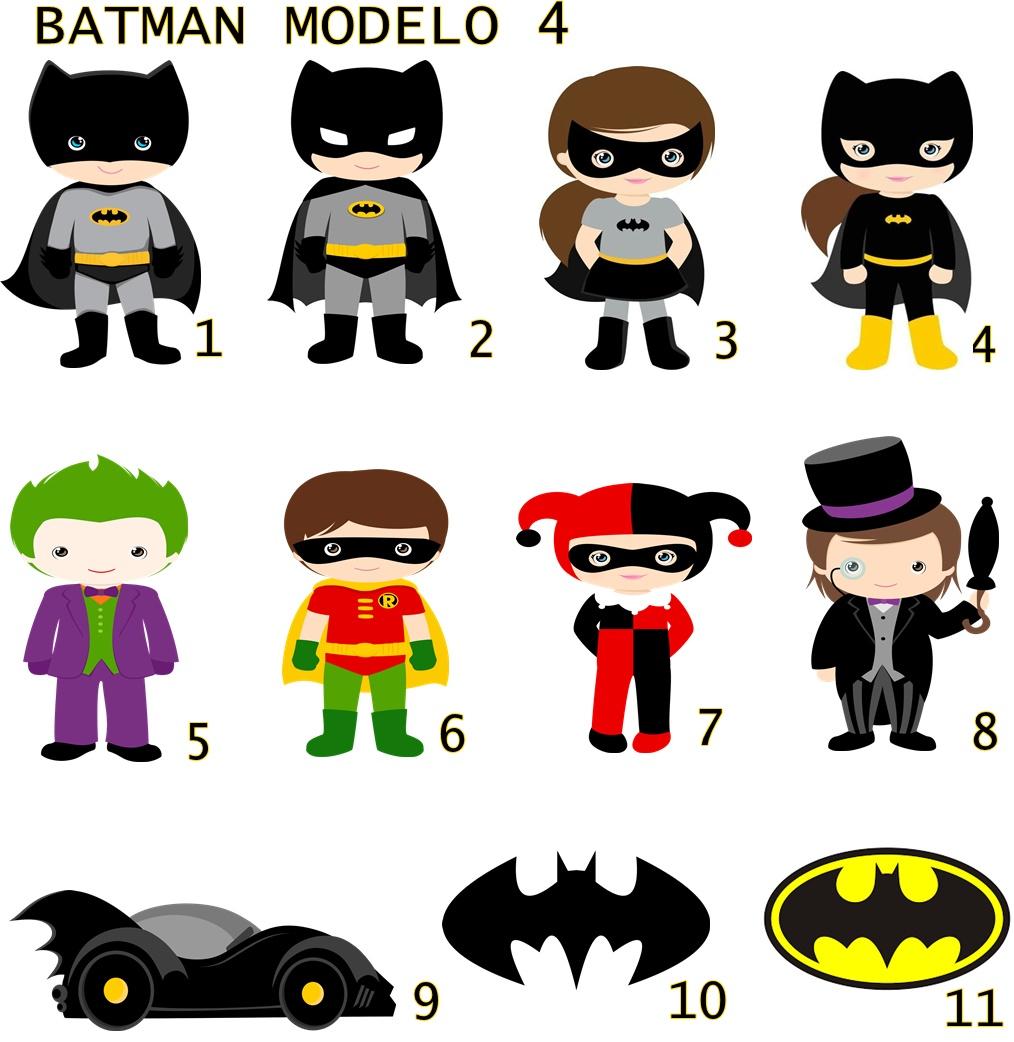 Apliques Recortados Batman Tam 3 5cm No Elo7 Jujubinha A10325