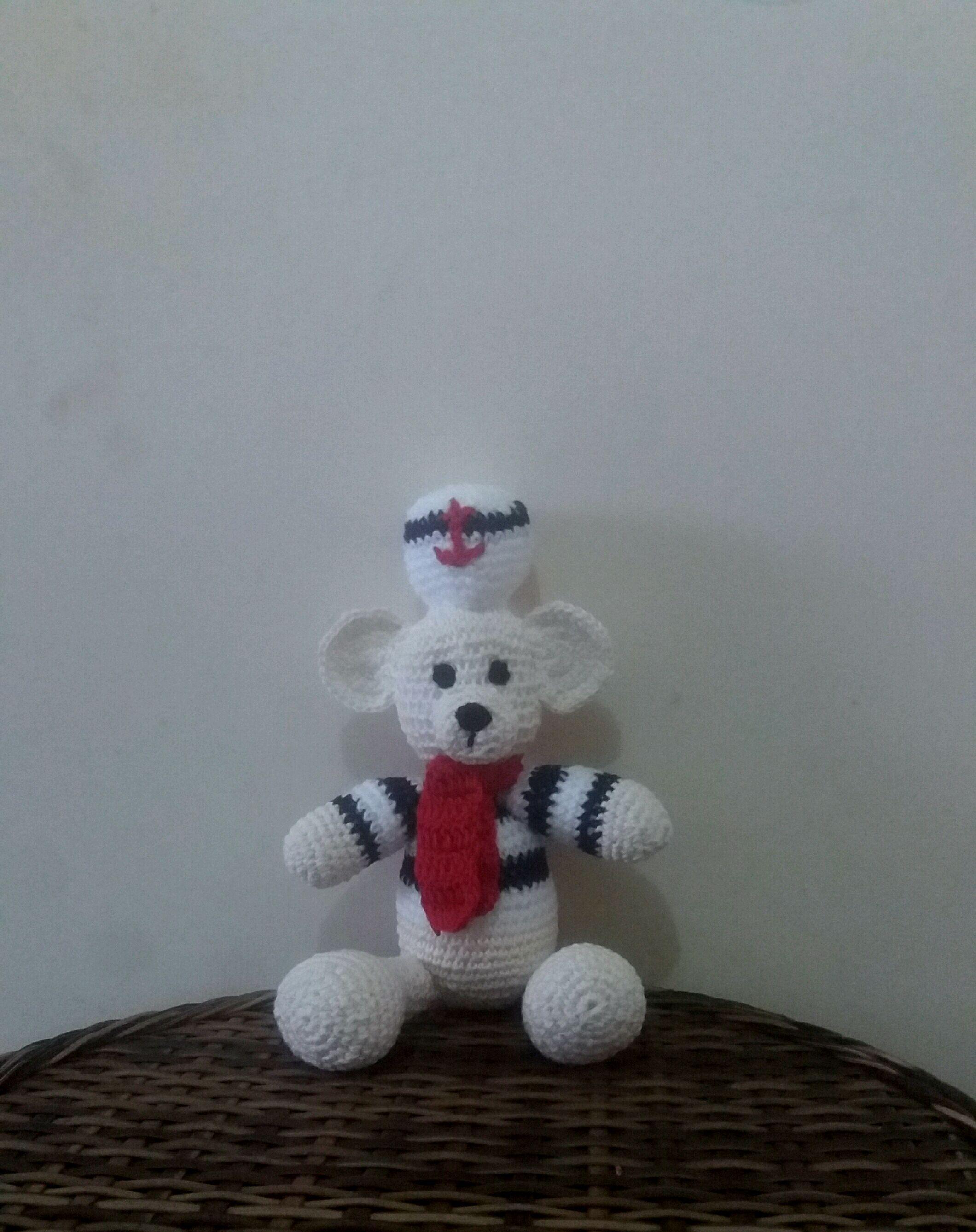 Resultado de imagem para marinheiro amigurumi | Marinheiro, Urso ... | 2675x2120