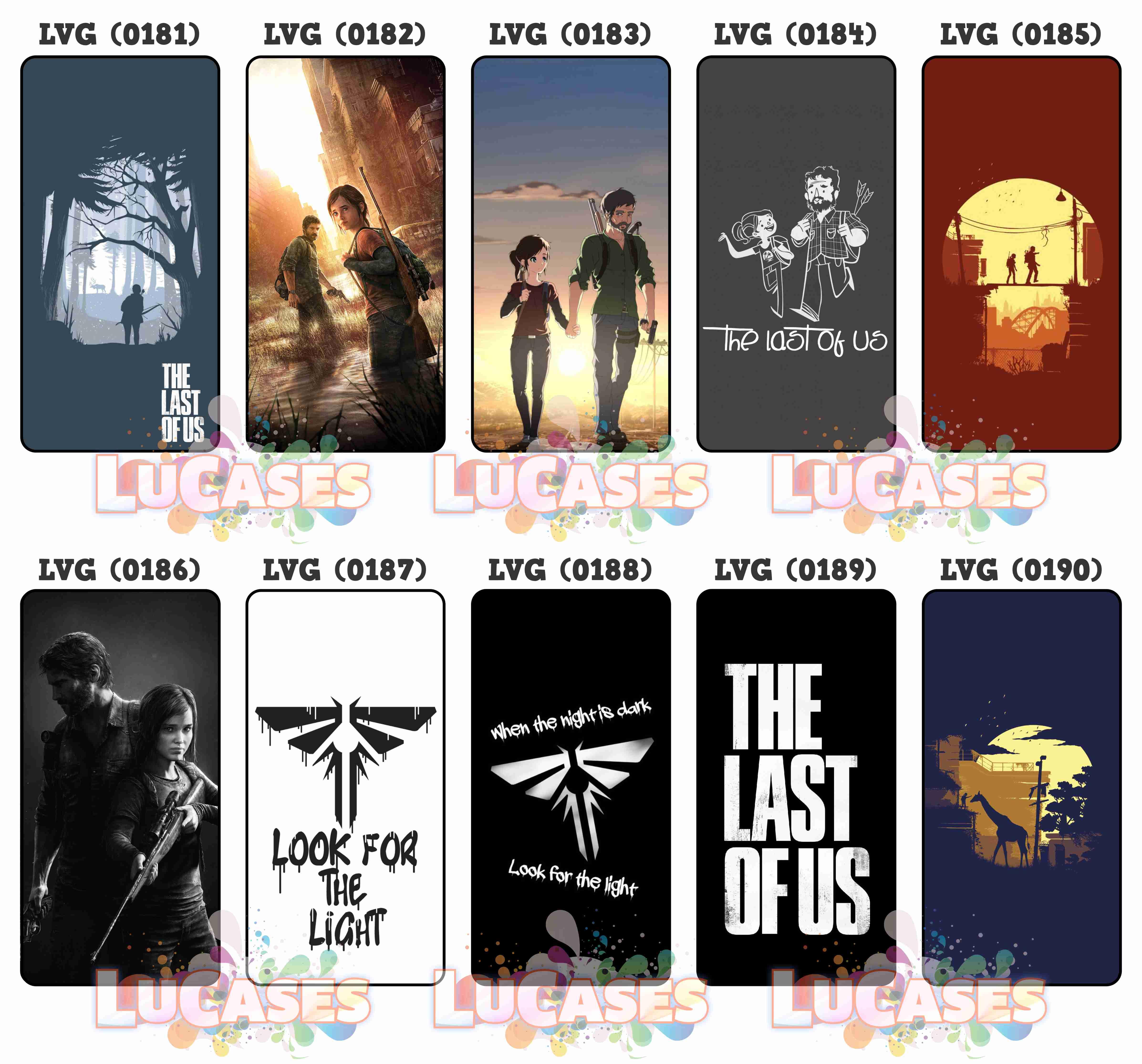 Capa Capinha Celular The Last Of Us Tlou No Elo7 Loja Lucases