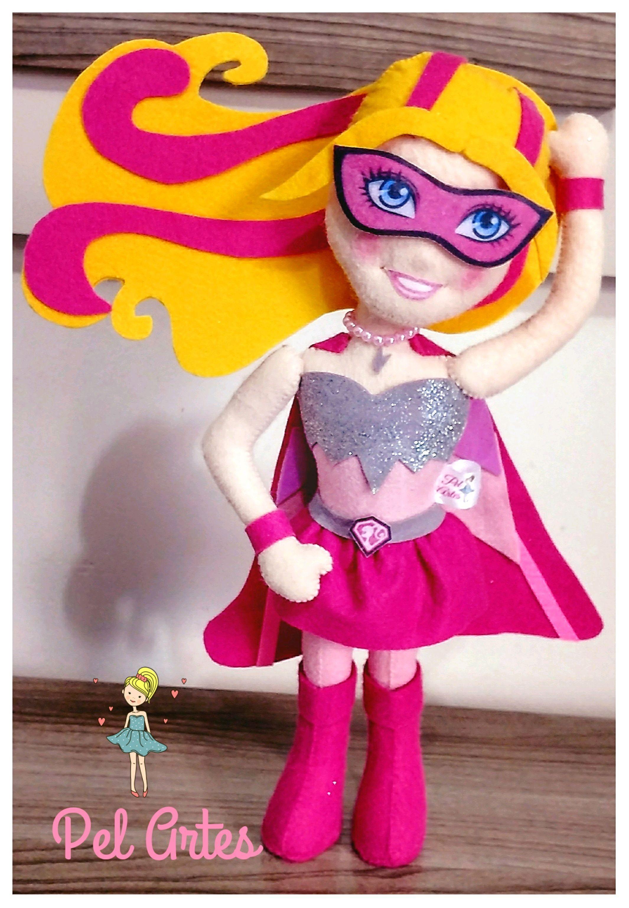 Kit Barbie Super Princesa Elo7