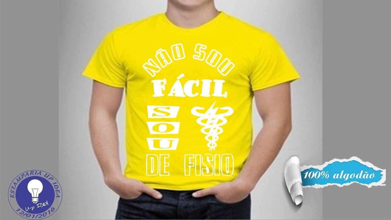 e392a3c8b6 Fisioterapia OKOUFEN T-shirt Camisa camisa PT Fisioterapeuta