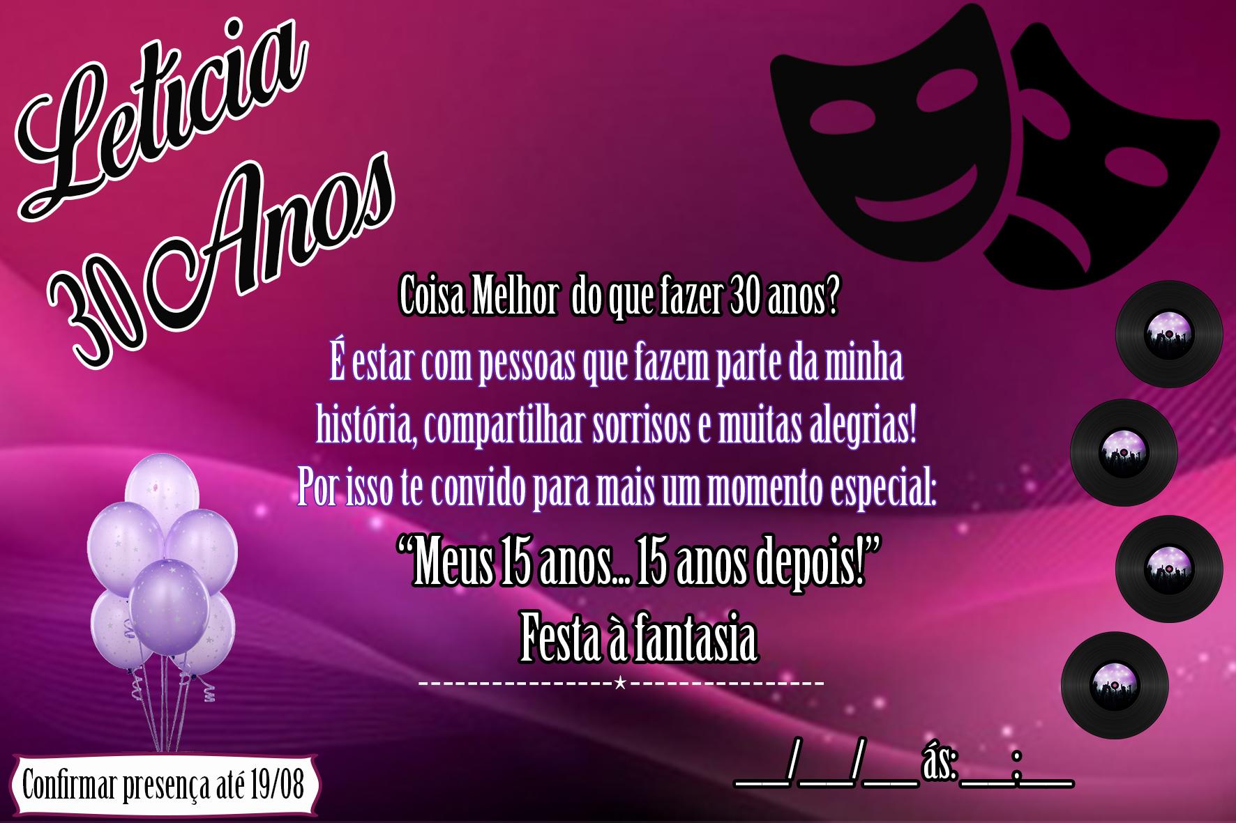 Convite Virtual Festa A Fantasia No Elo7 Piu Piu Personalizados