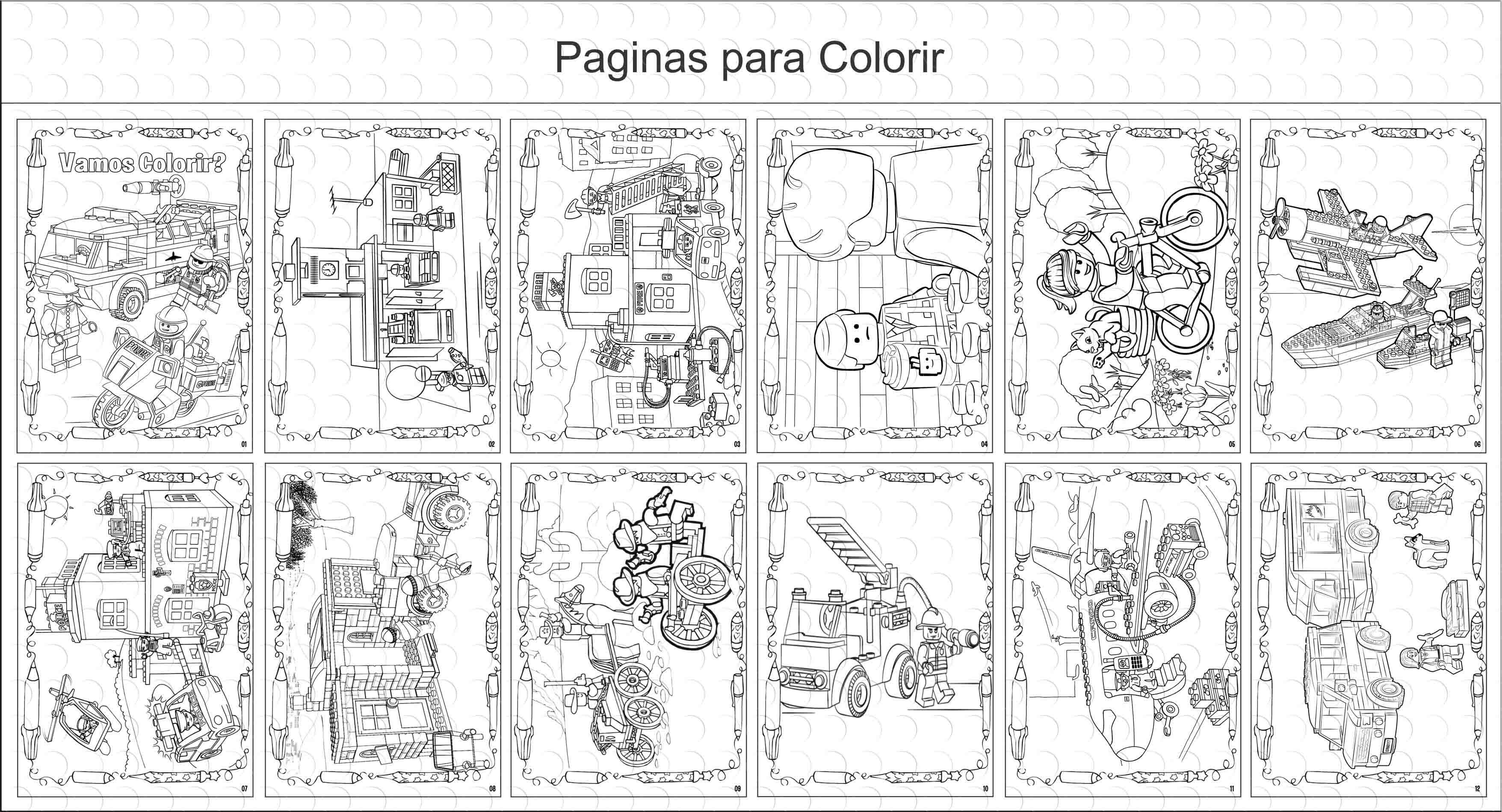 Desenho Para Colorir Homem Aranha Lego