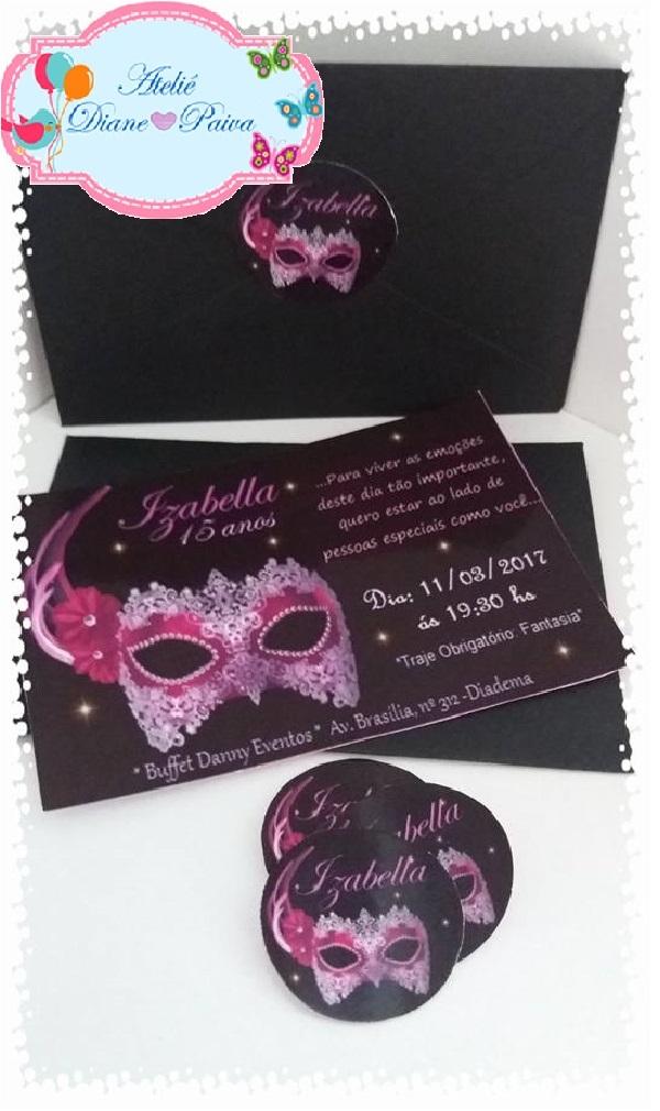 af94212a7948d Acessórios para Decoração Baile de Máscaras