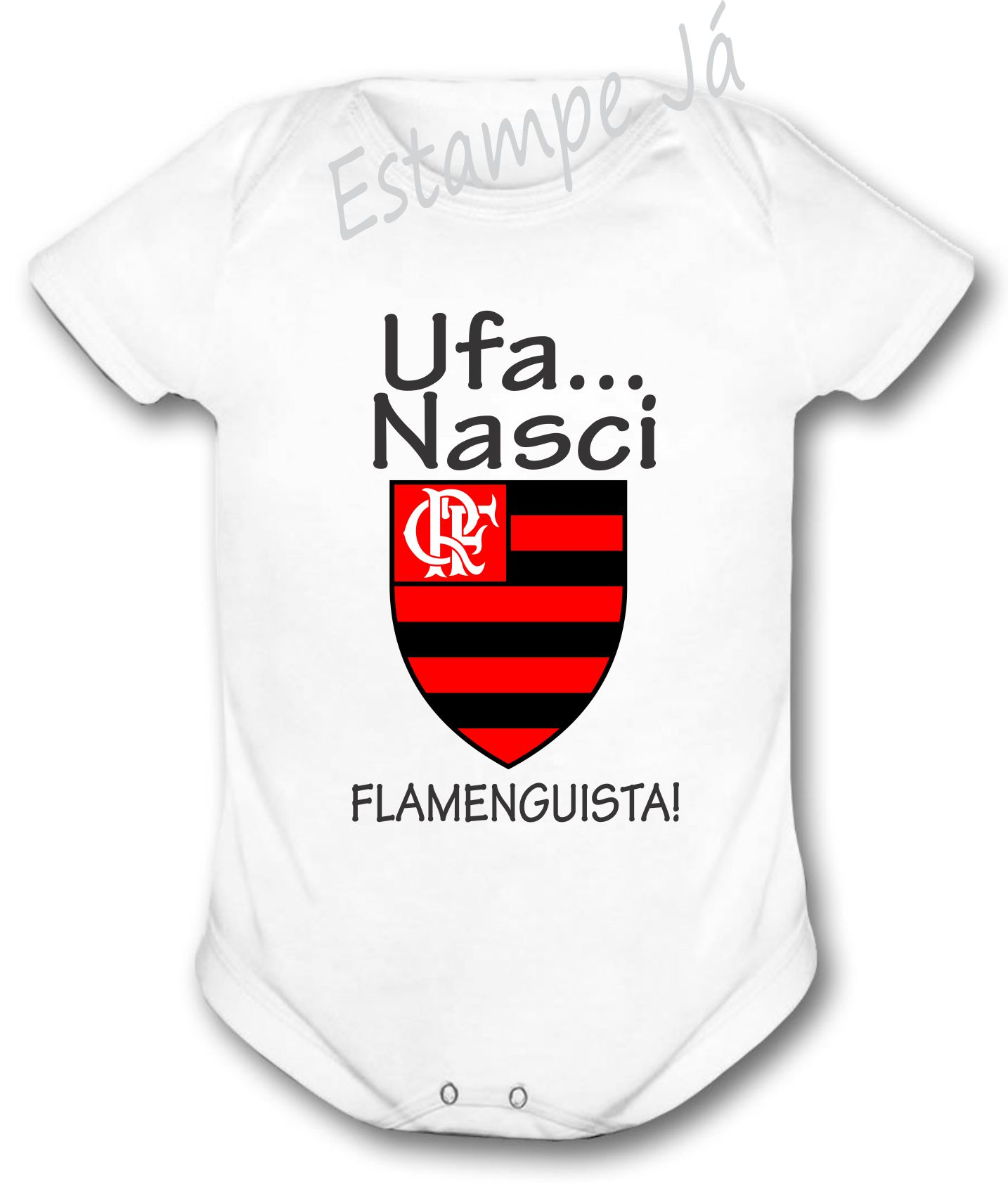 3cc61b3cc4f Body Flamengo Conjuntinho Personalizado | Elo7