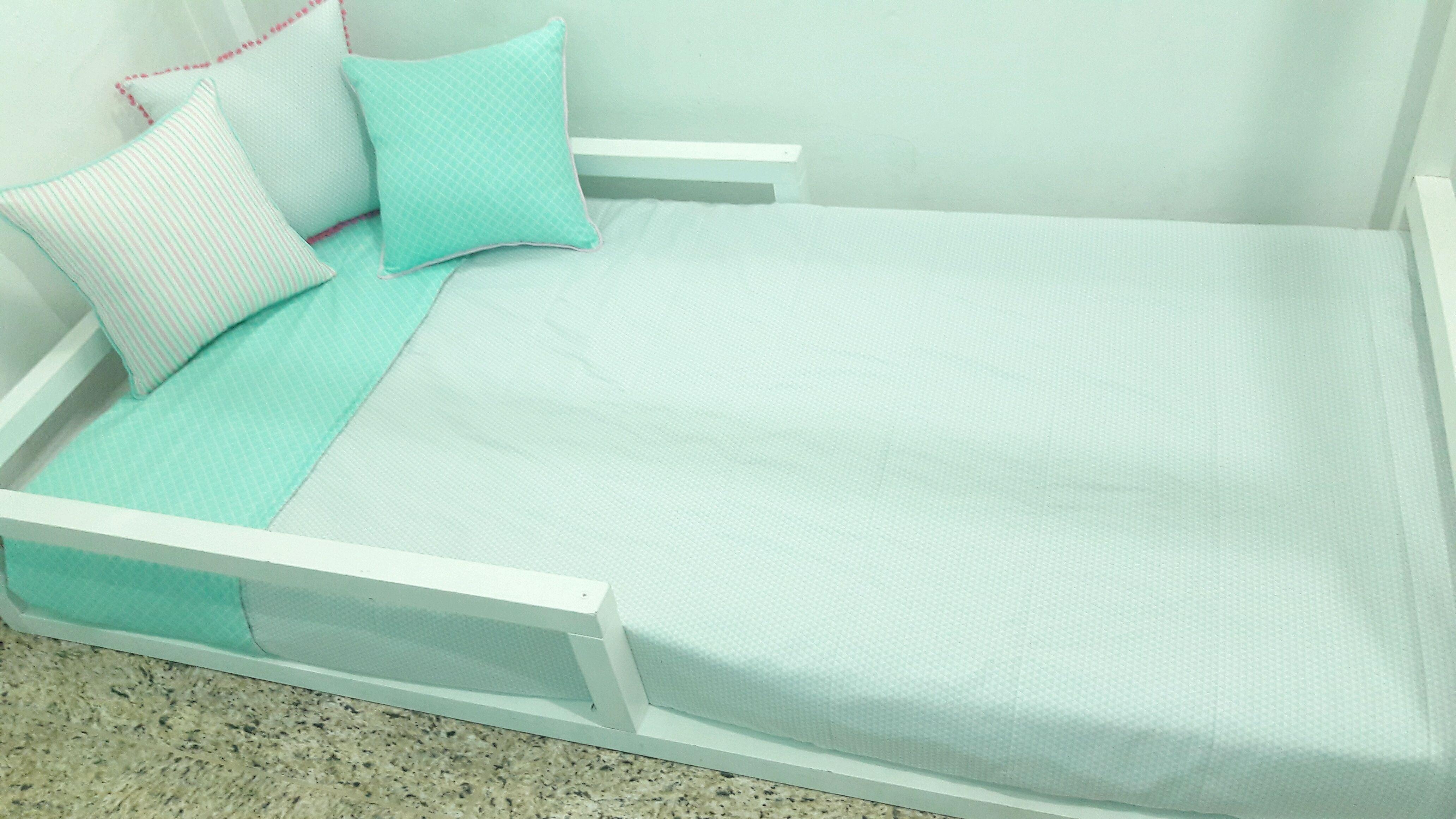 ffb94f1b0c KIT Almofadas cama solteiro infantil no Elo7