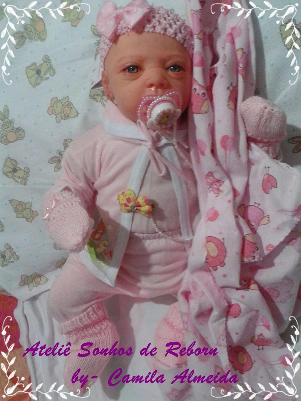 710901ad5 Bebe Reborn Boneca Lola