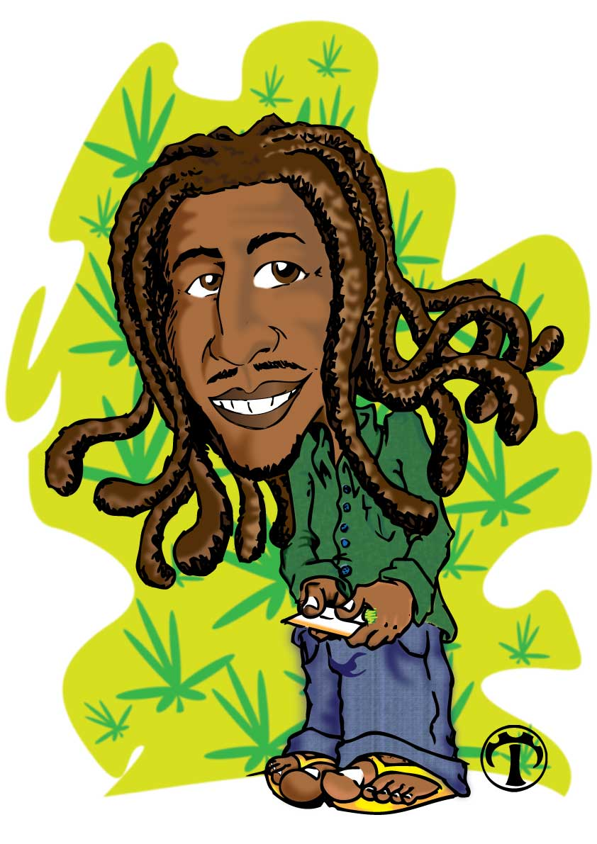 Camisa Camiseta Reggae Bob Marley Rastafari Jamaica No Elo7 J J