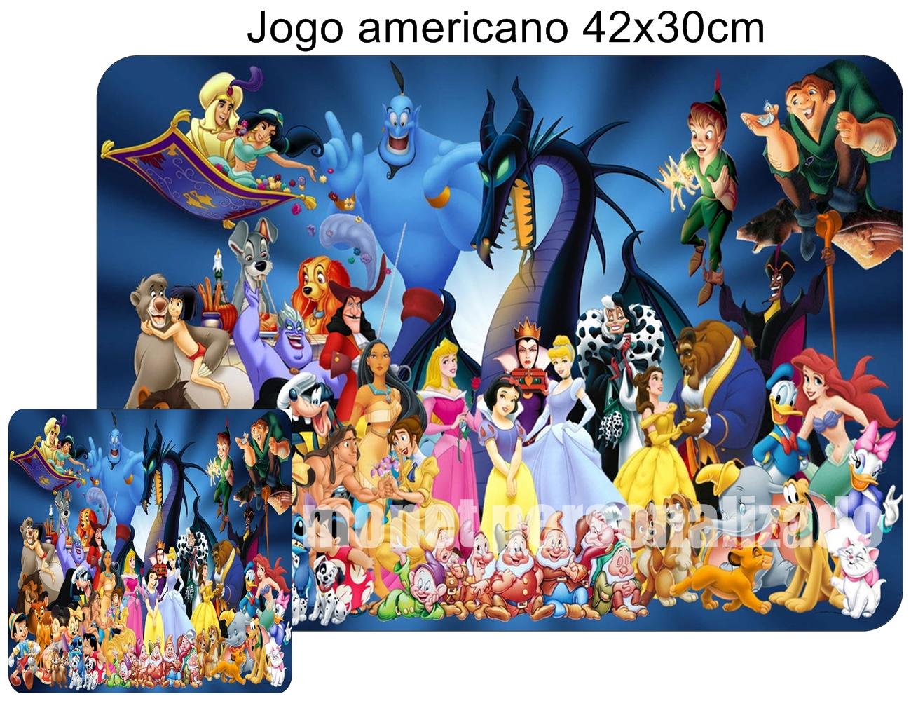 8f14b3610e JOGO AMERICANO G - DISNEY no Elo7