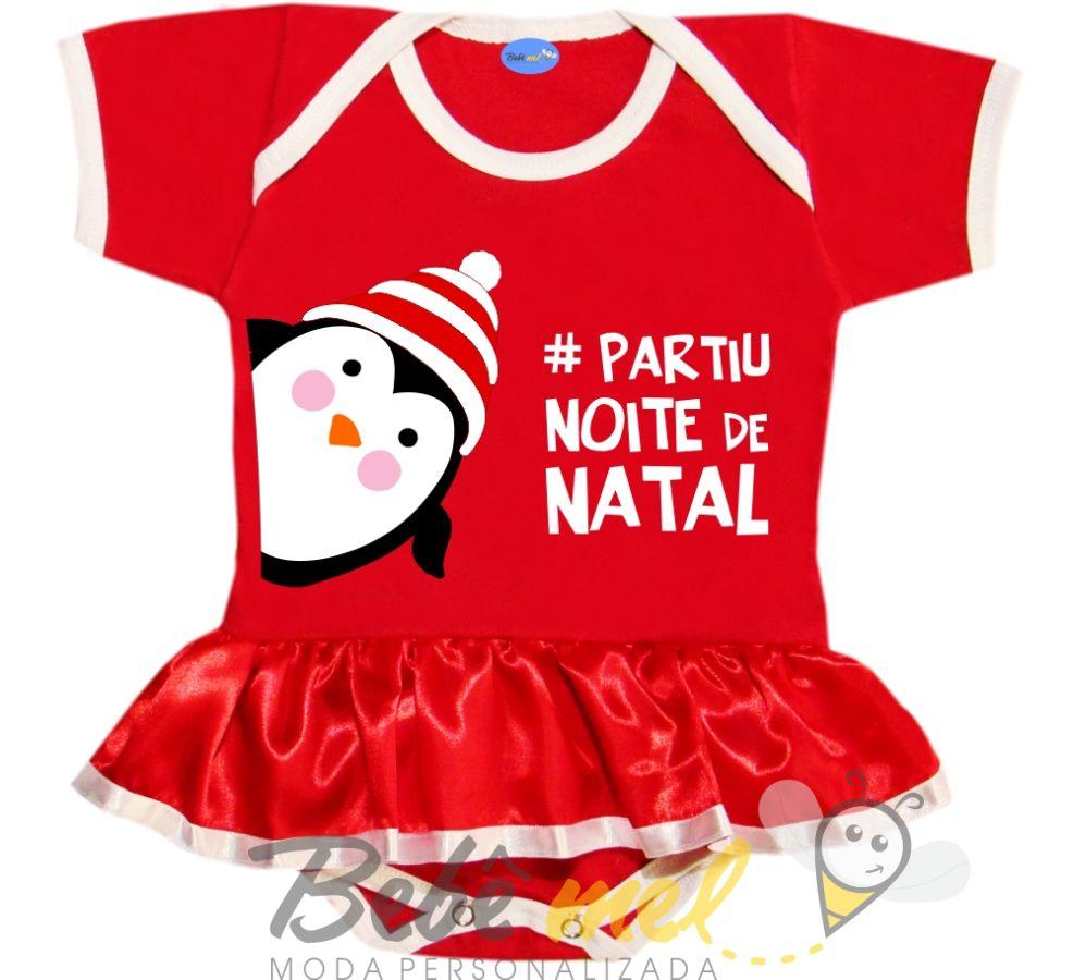 27d9c818a1 Body de Natal Para Bebê  PartiuNoitedeNatal no Elo7