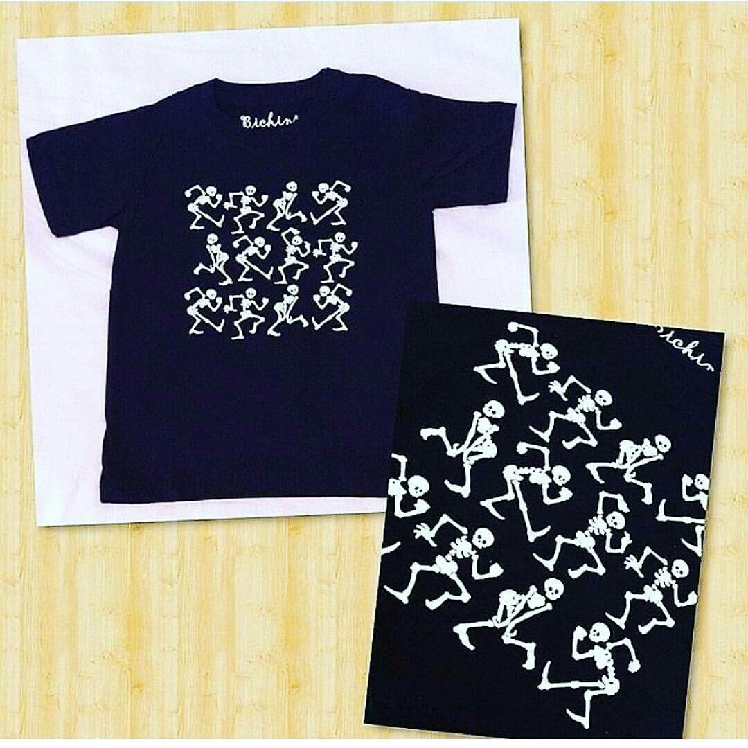 Camisa Caveirinhas Dancantes  c7c354230a8a1
