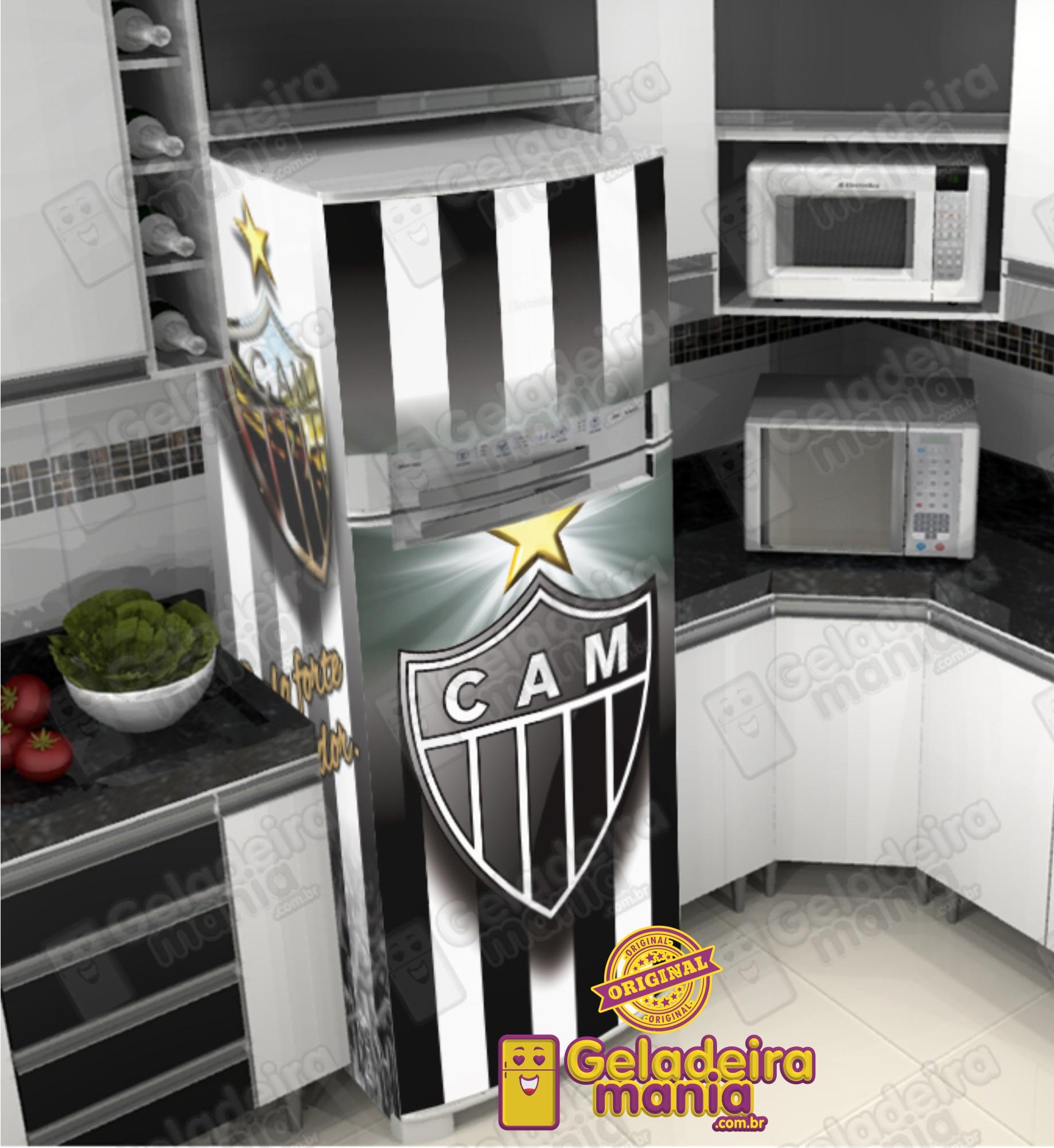 b09ede8eef Adesivo Porta Geladeira Futebol 28