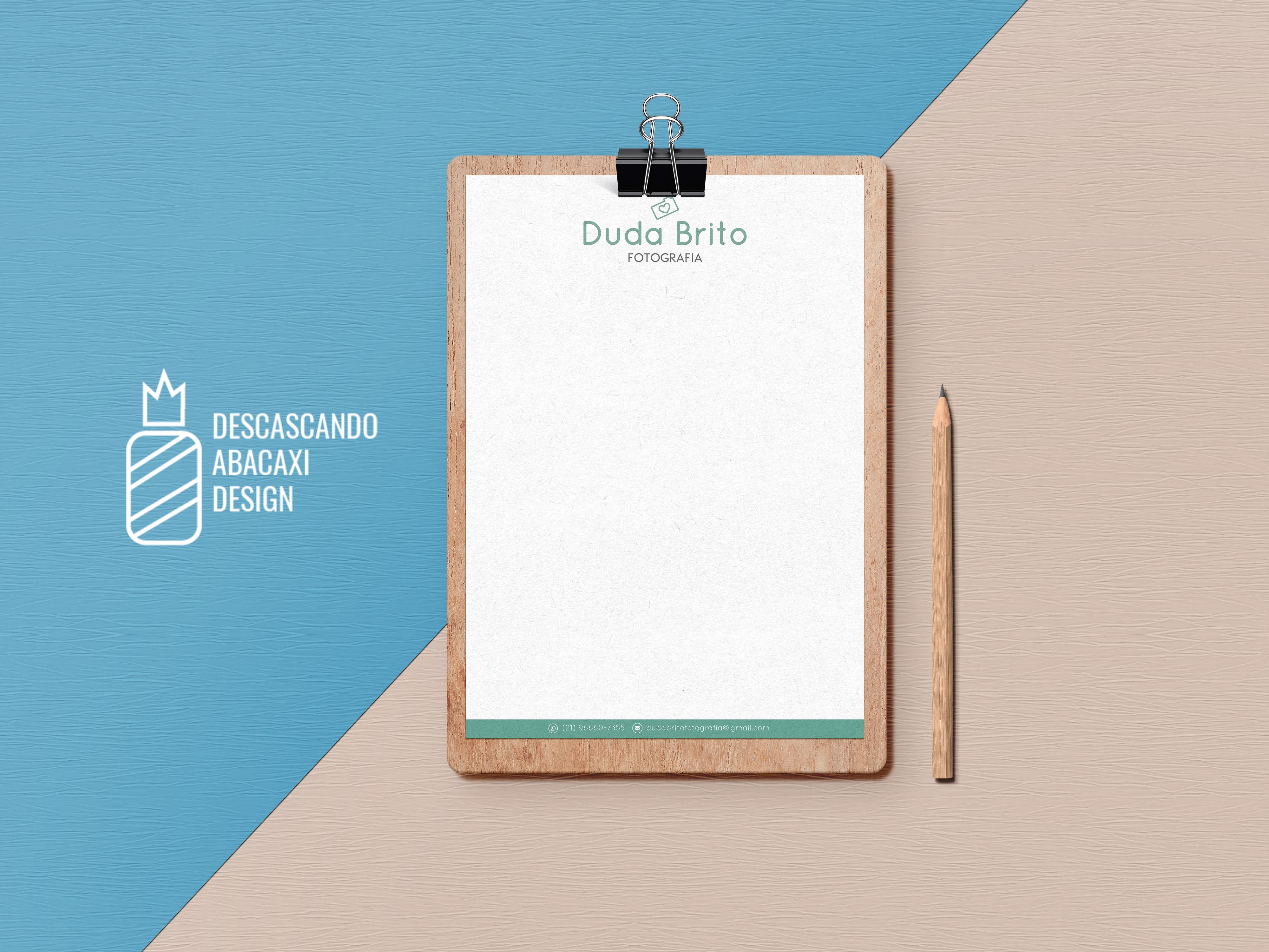 c063272da Papel Timbrado - Bloco 100 Folhas Frente (Impresso) no Elo7 | Descascando  Abacaxi Design (A5C087)