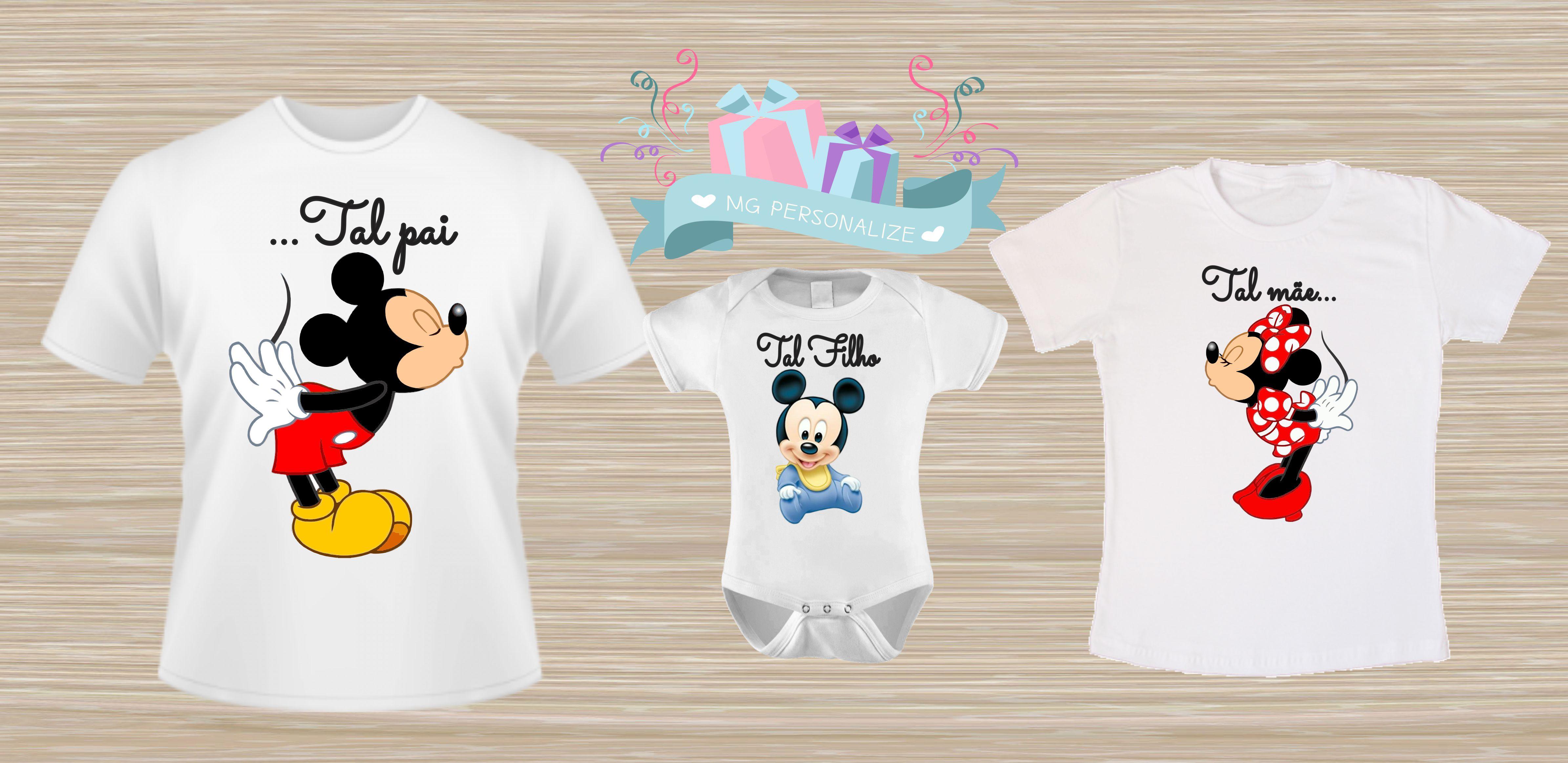 dcb983626 Kit Revenda Camiseta Pai Mae e Filho a